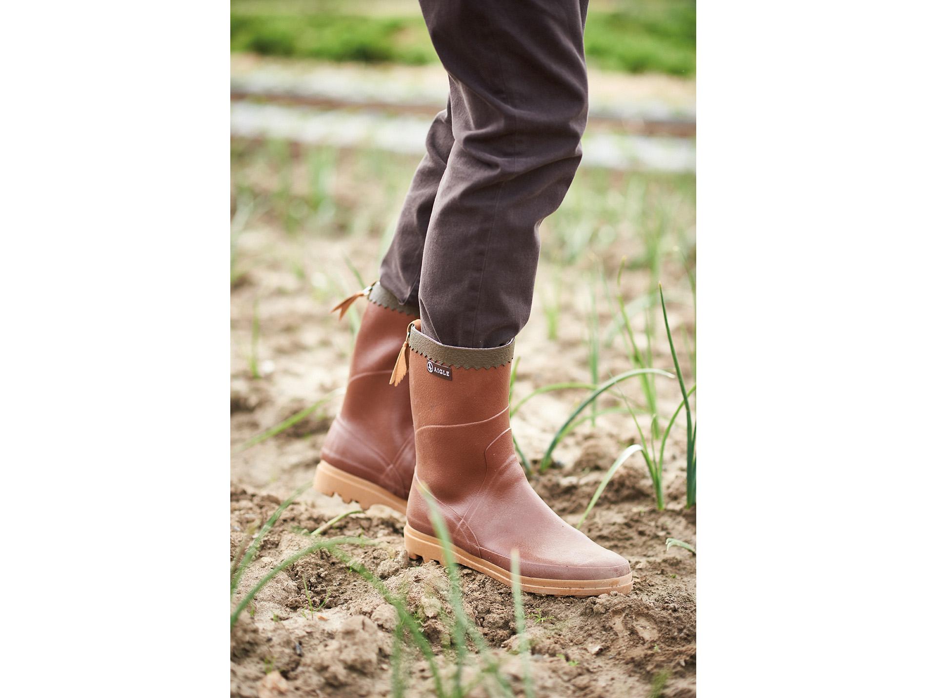 magasin d'usine 080bb 58997 Bison De Chaussures Bottes Homme Mi Aigle Travail J3cK1lFT