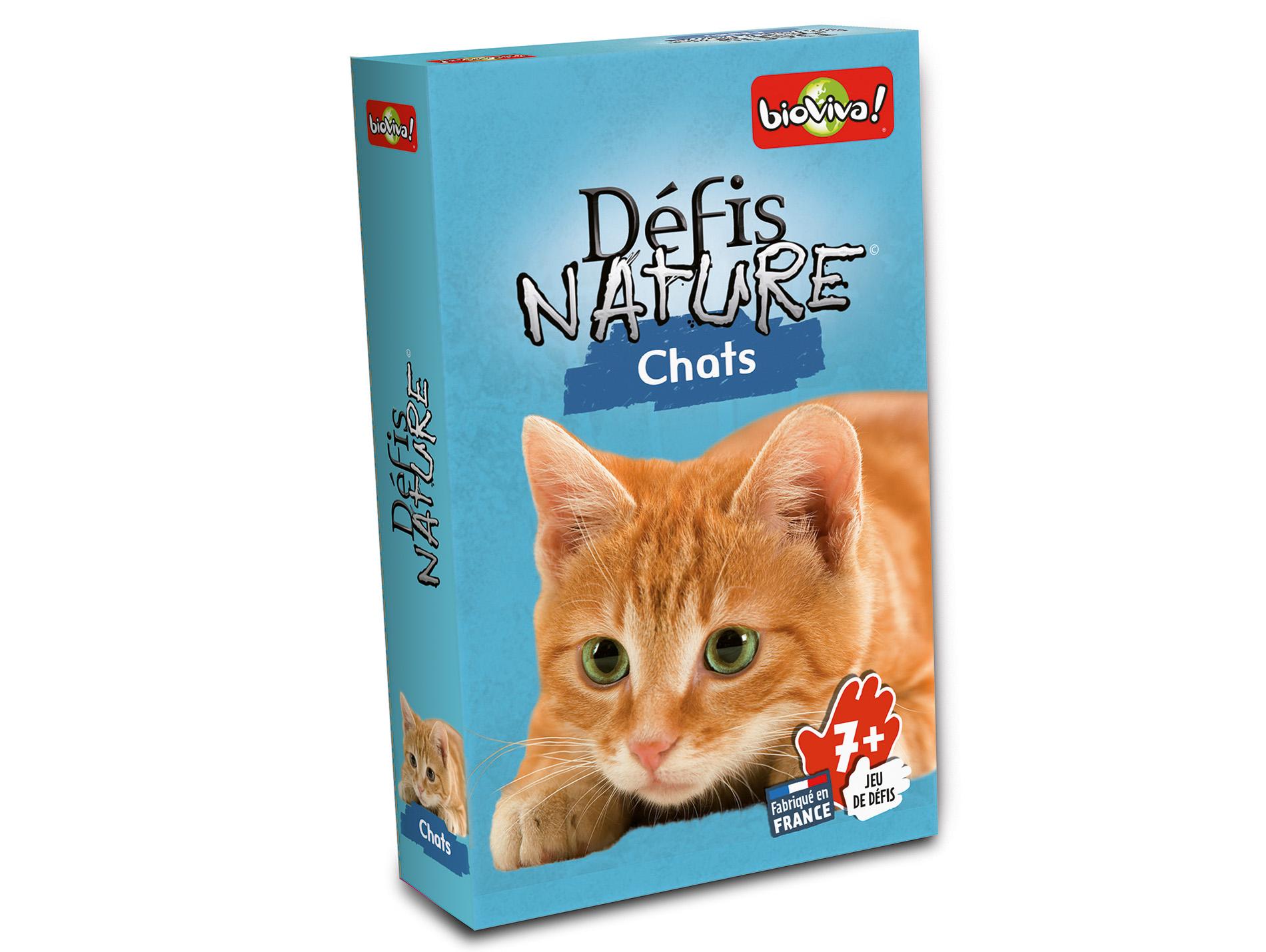 jeu de cartes d fis nature chats jeux de soci t. Black Bedroom Furniture Sets. Home Design Ideas
