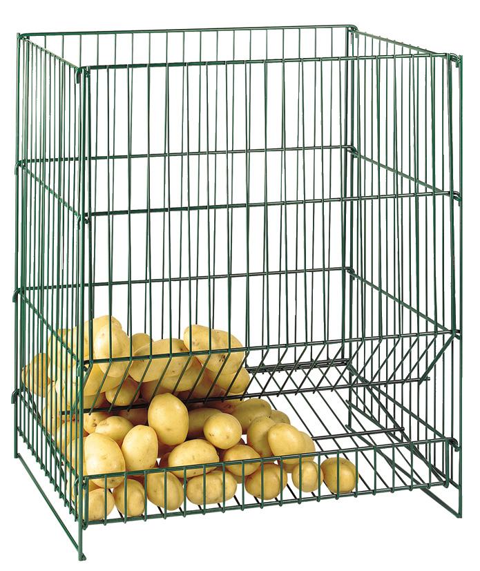 resserre pommes de terre 100kg conservation des aliments cuisine conservation. Black Bedroom Furniture Sets. Home Design Ideas
