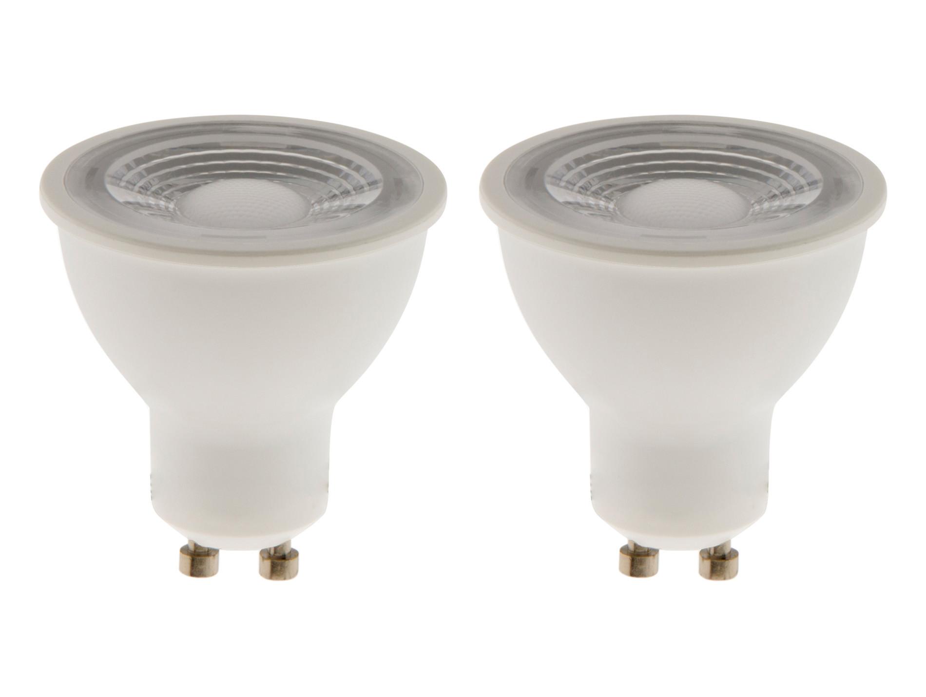 Ampoule à réflecteur LED 6W GU10 x 2