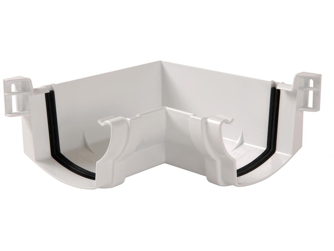 Angle intérieur Ondella à joint Blanc