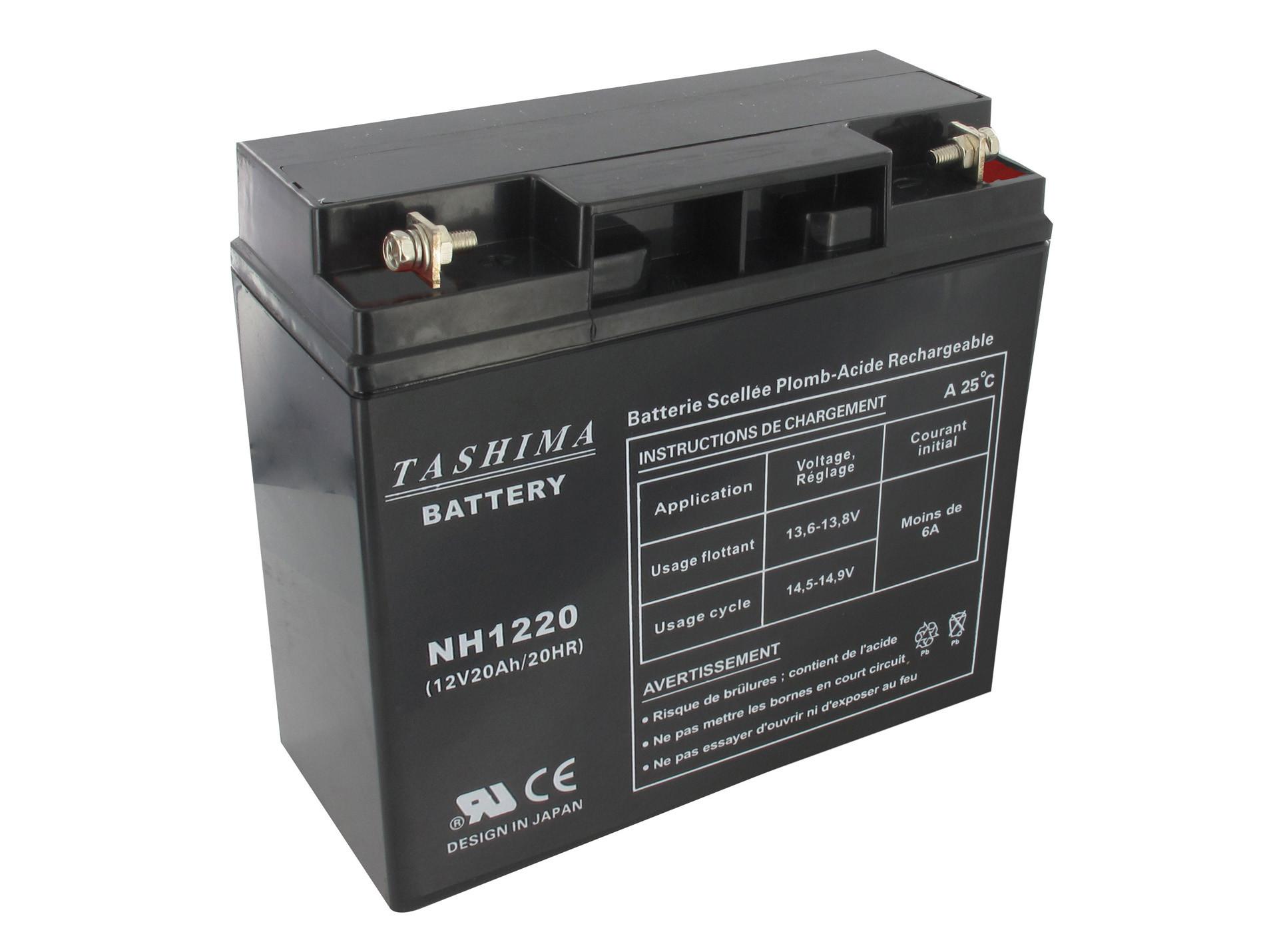 Batterie 12V 20Ah NH1220 motoculture