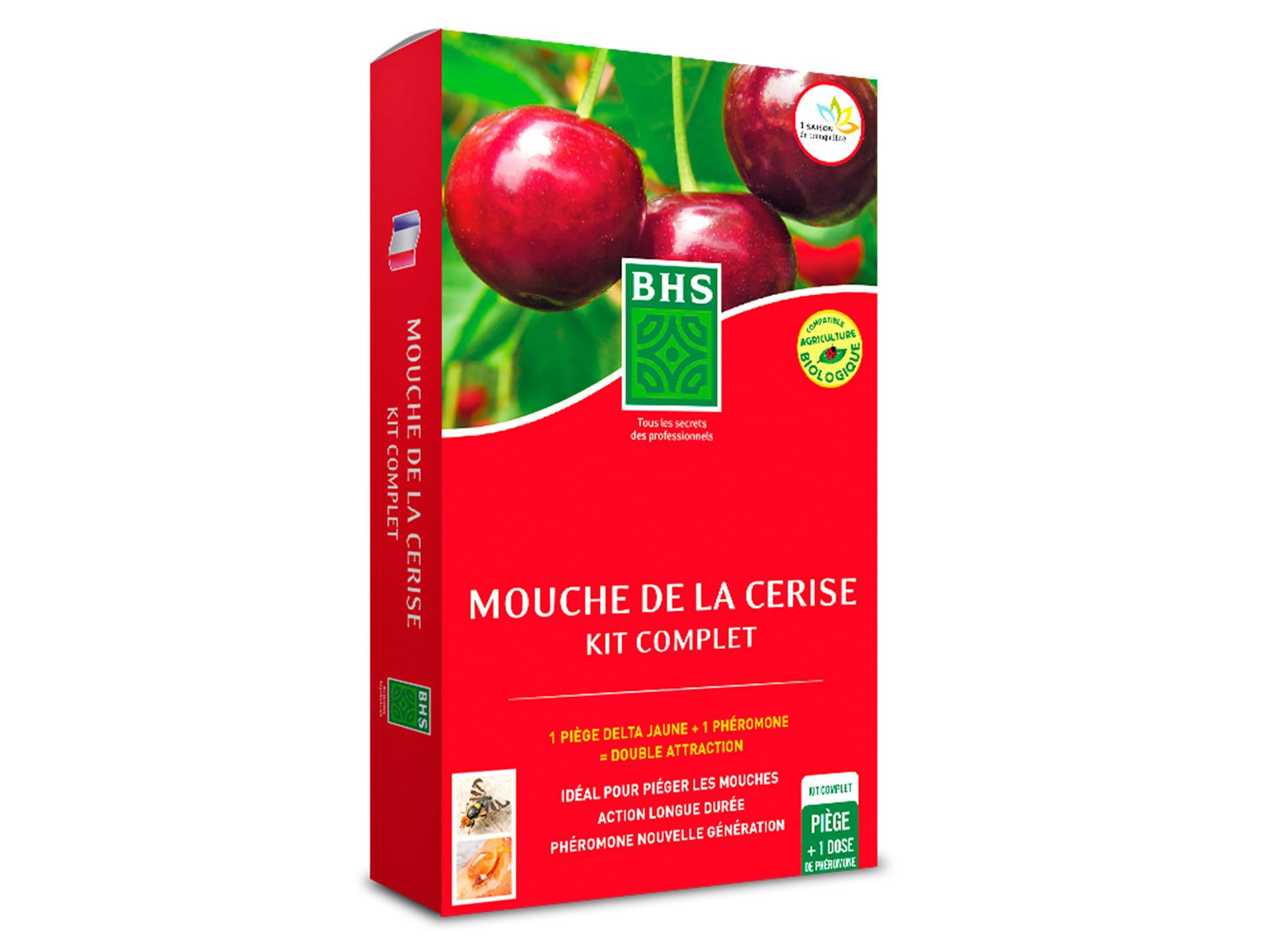 Kit 10 phéromone Mouche de la cerise BHS