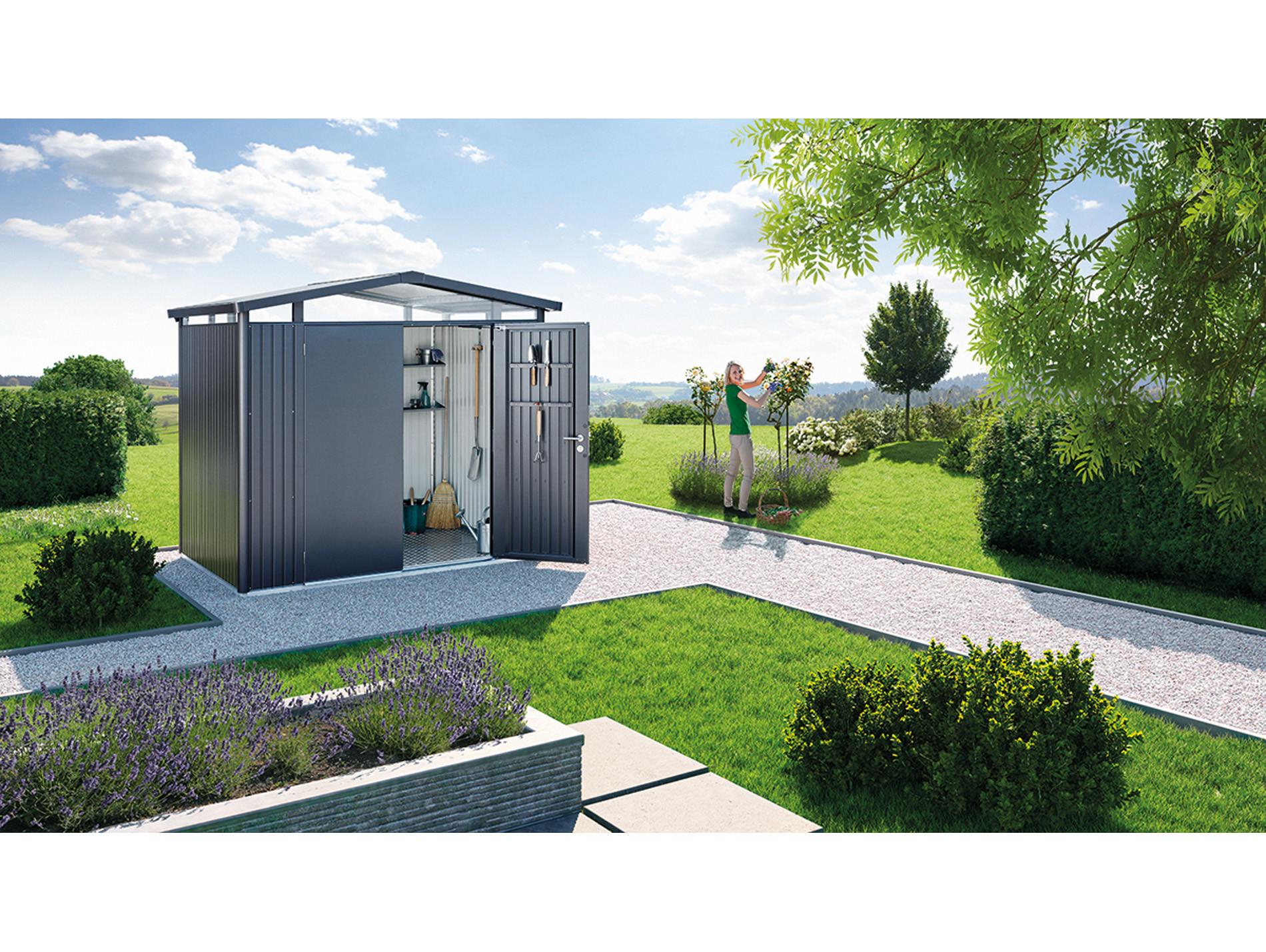 acheter pas cher 0b3d5 534fc Abri de jardin métal Panorama® 5,40 m² - Abris de jardin ...