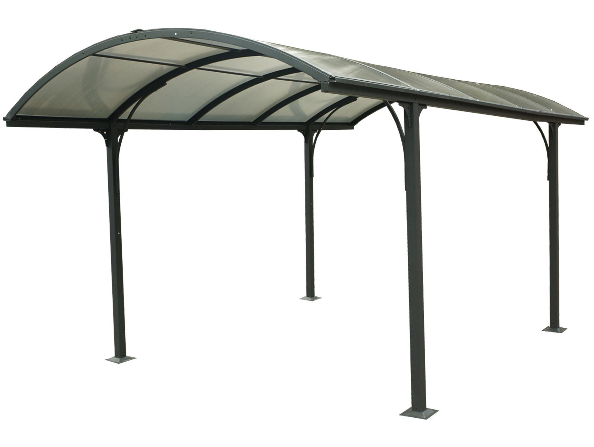 Carport aluminium 14,80 m²