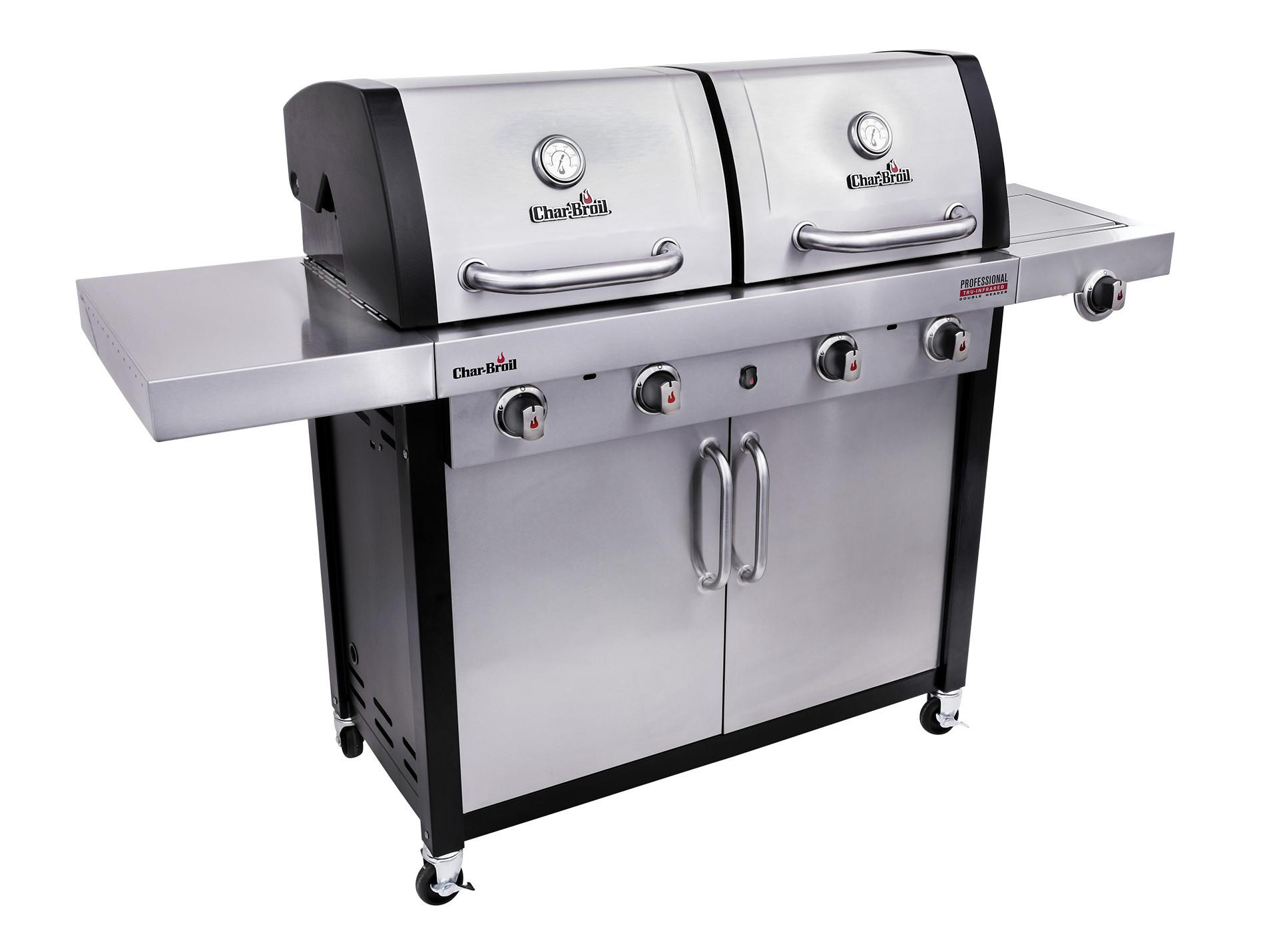 Barbecue Gaz Et Plancha barbecue gaz professional char-broil® 4600s - barbecue