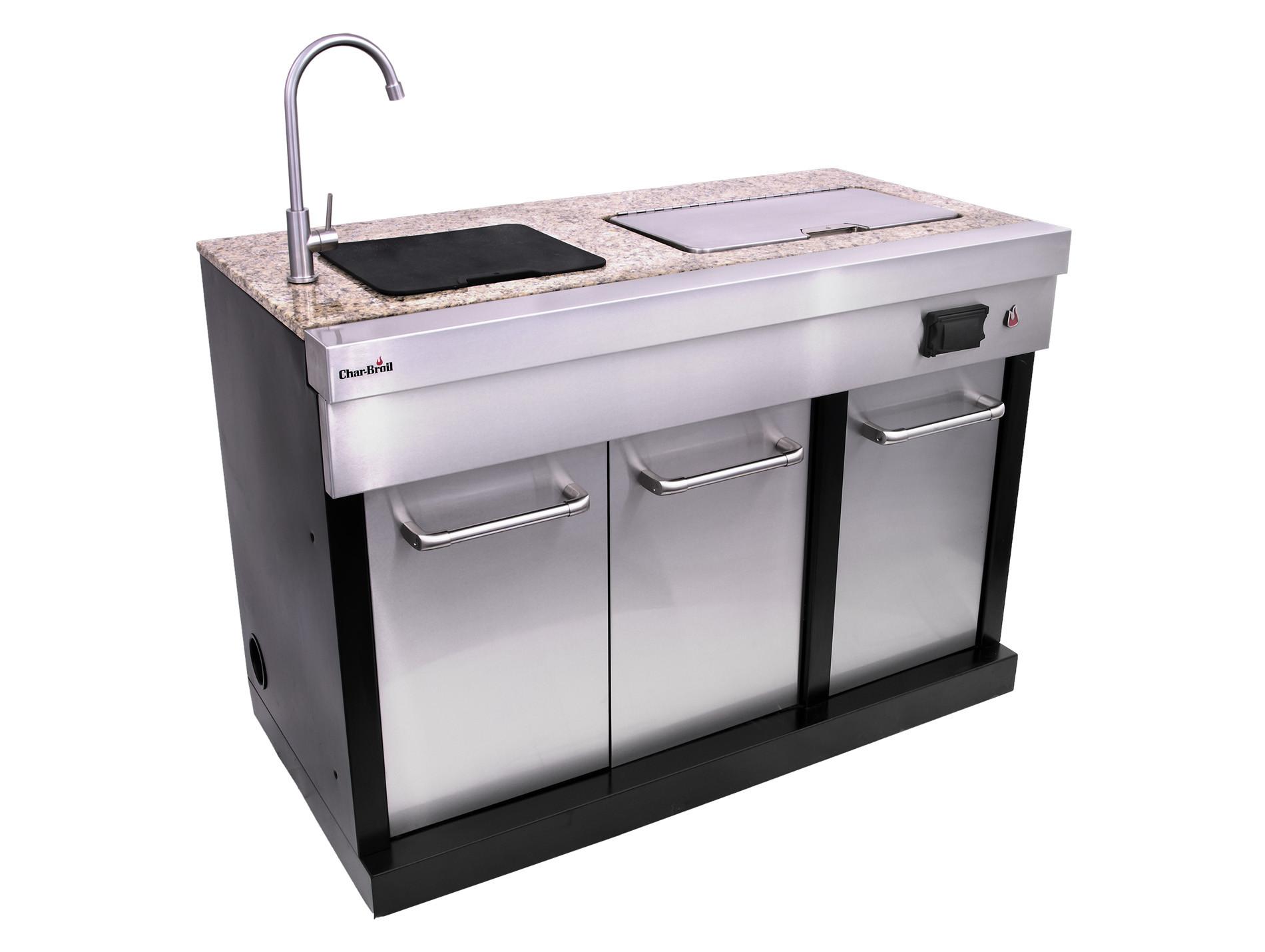 Cuisine extérieure Char-Broil® Ultimate module évier + froid