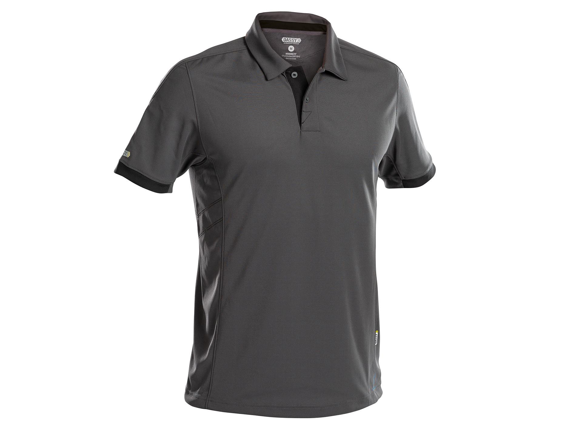 Polo DASSY® Traxion Gris/noir