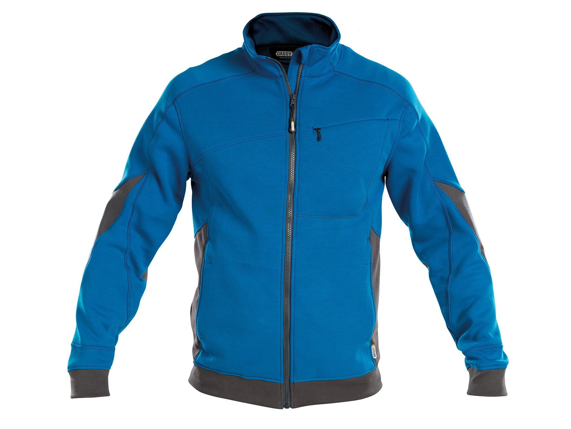 Sweat-shirt  DASSY® Velox Bleu/gris