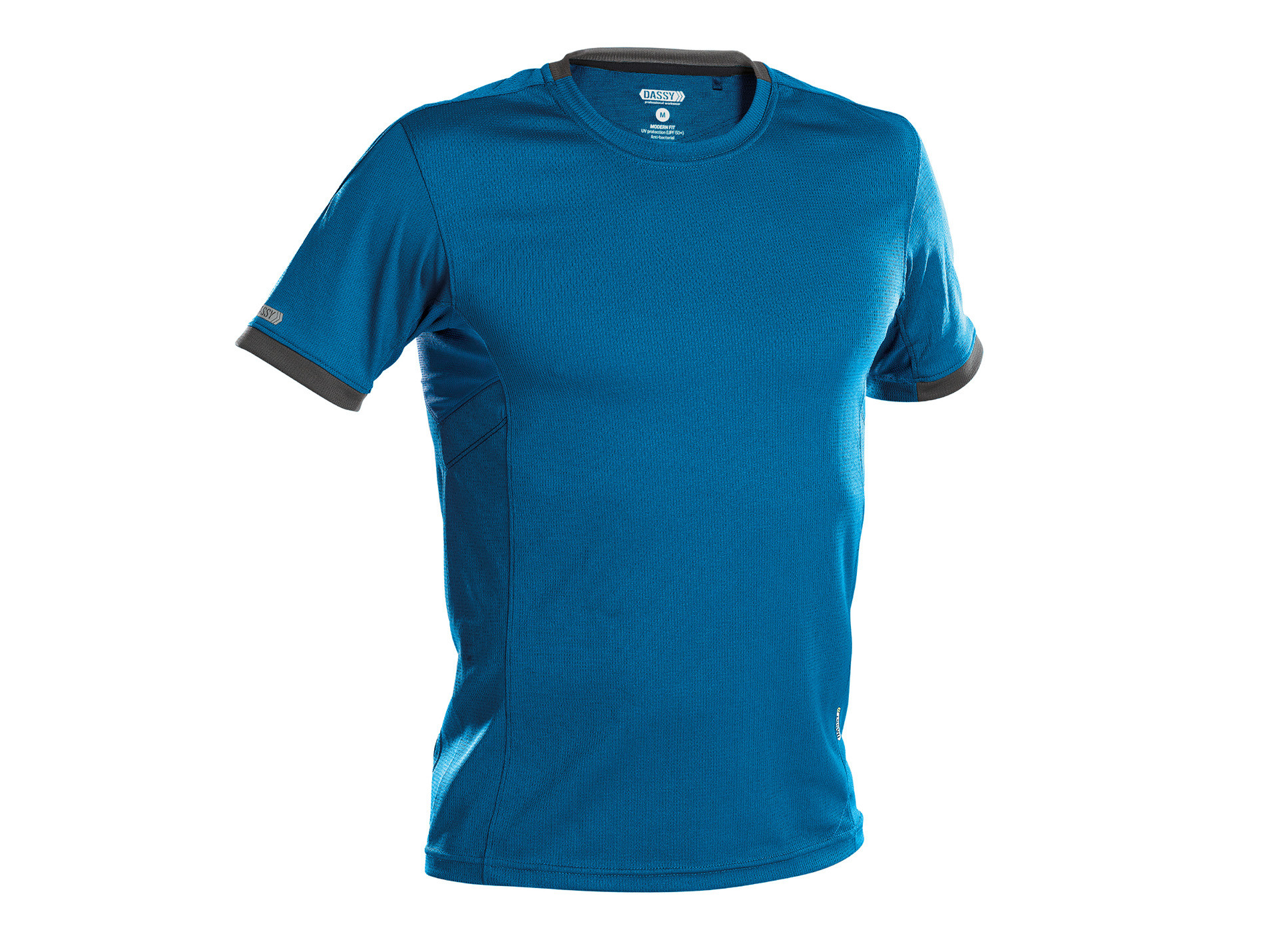 T-shirt DASSY® Nexus Bleu/gris