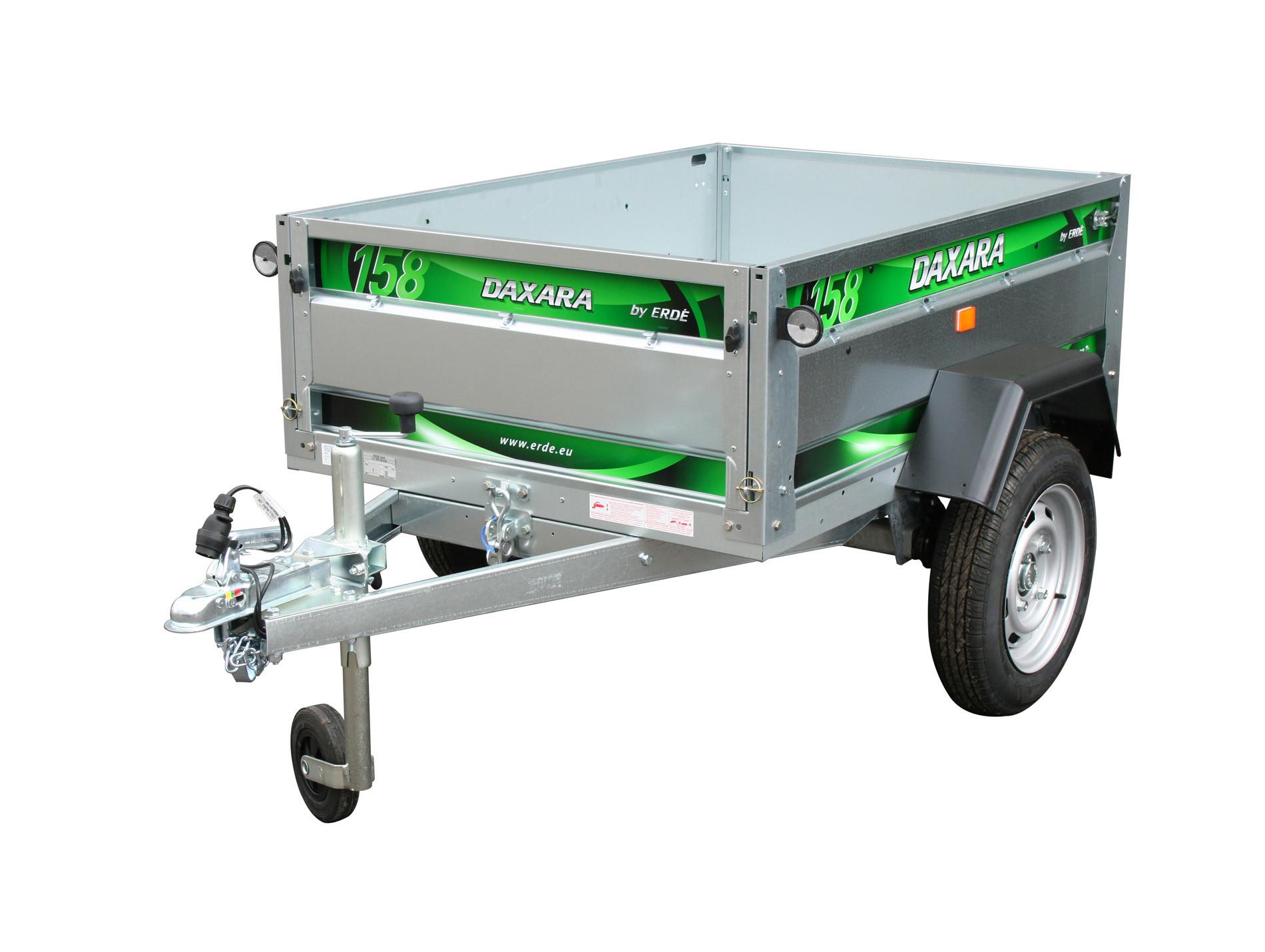 Remorque basculante 1,45m 500kg DAXARA 158