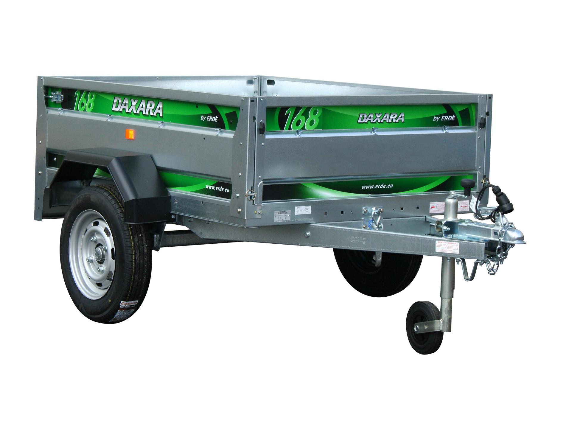 Remorque basculante 1,55m 500kg DAXARA 168