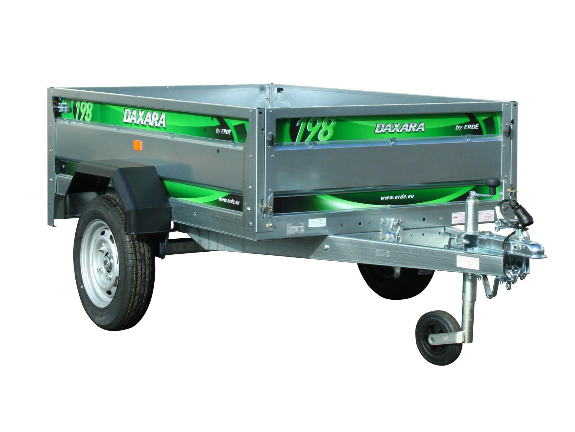 Remorque basculante 1,85m 750kg DAXARA 198