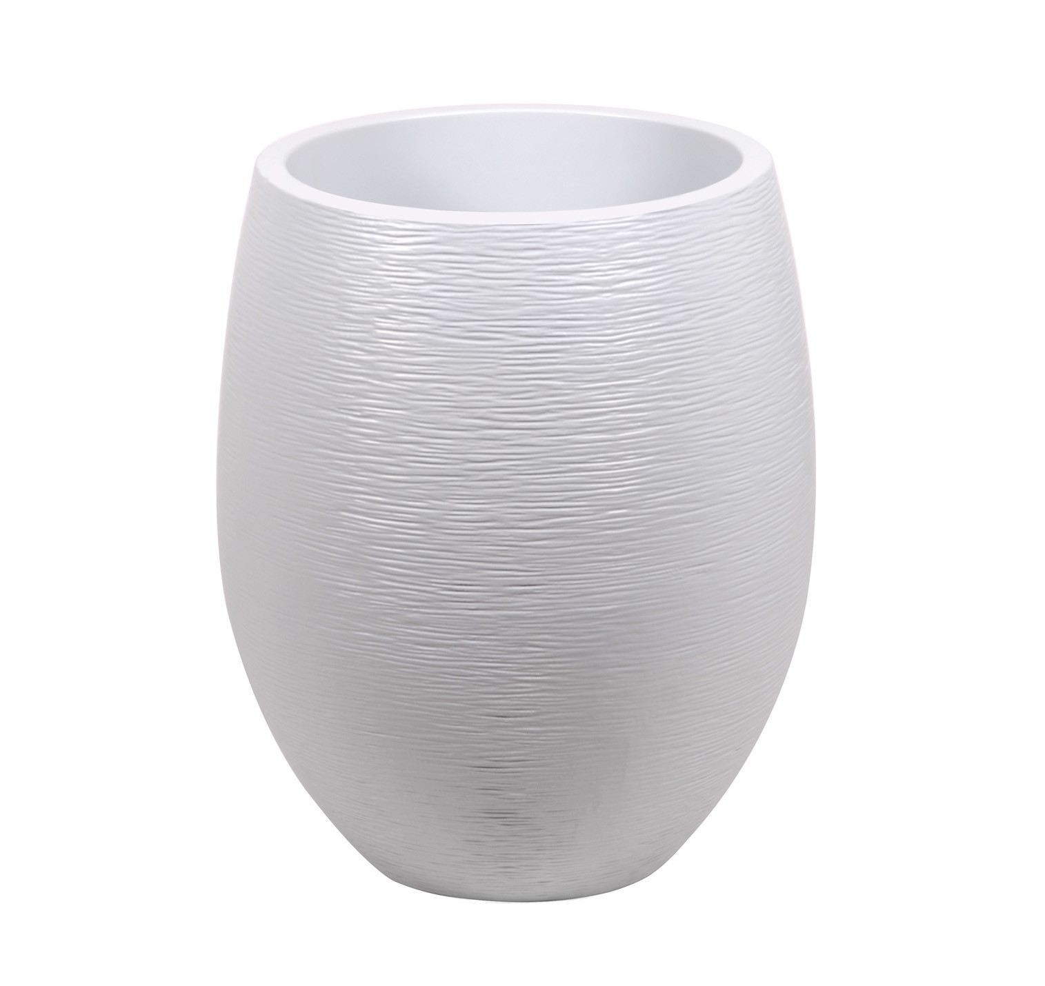 Pot EDA Egg Graphit XL Ø50 Blanc