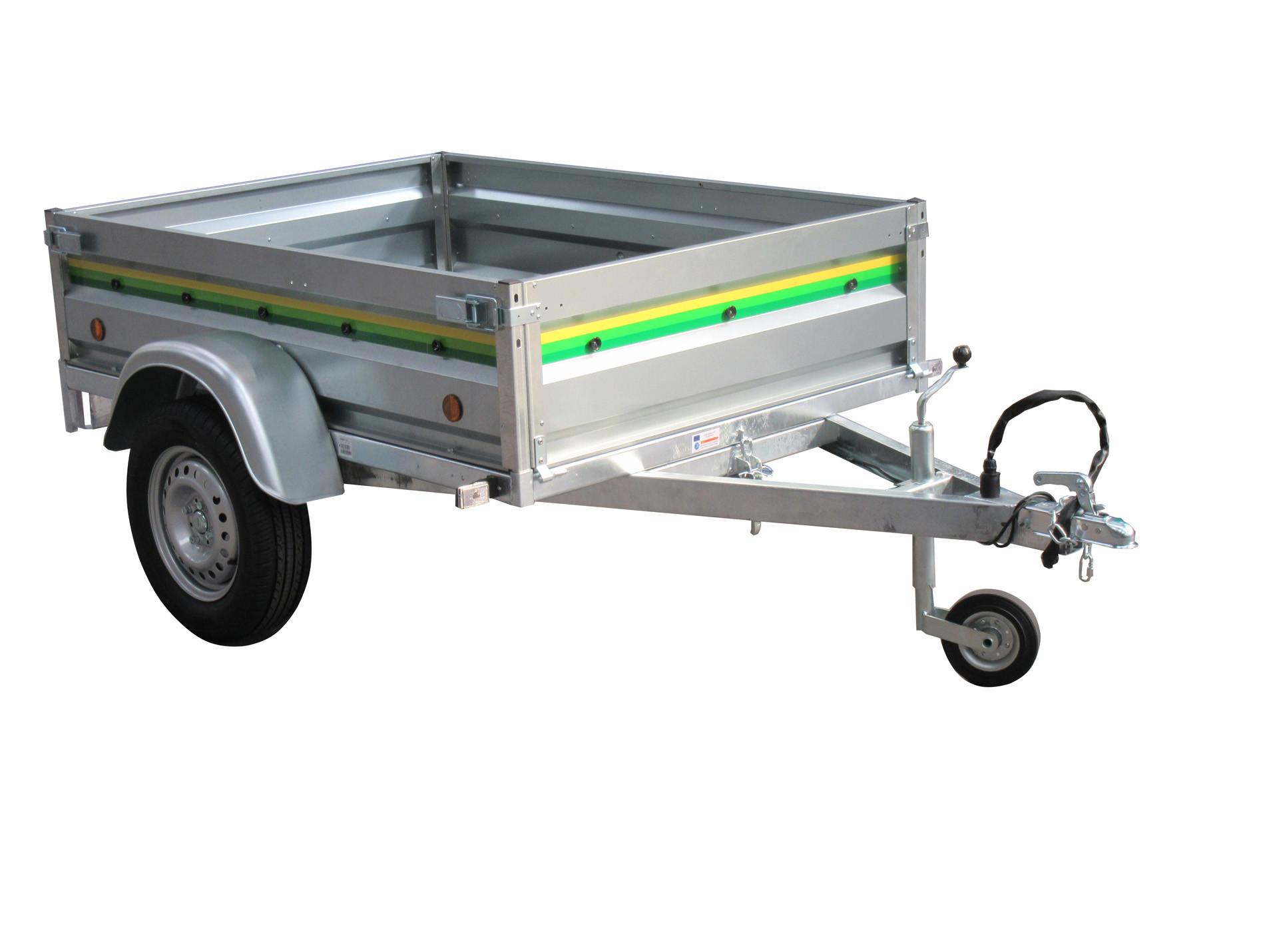 Remorque basculante 1,70m 500kg ESPACE EMERAUDE OPALE 17