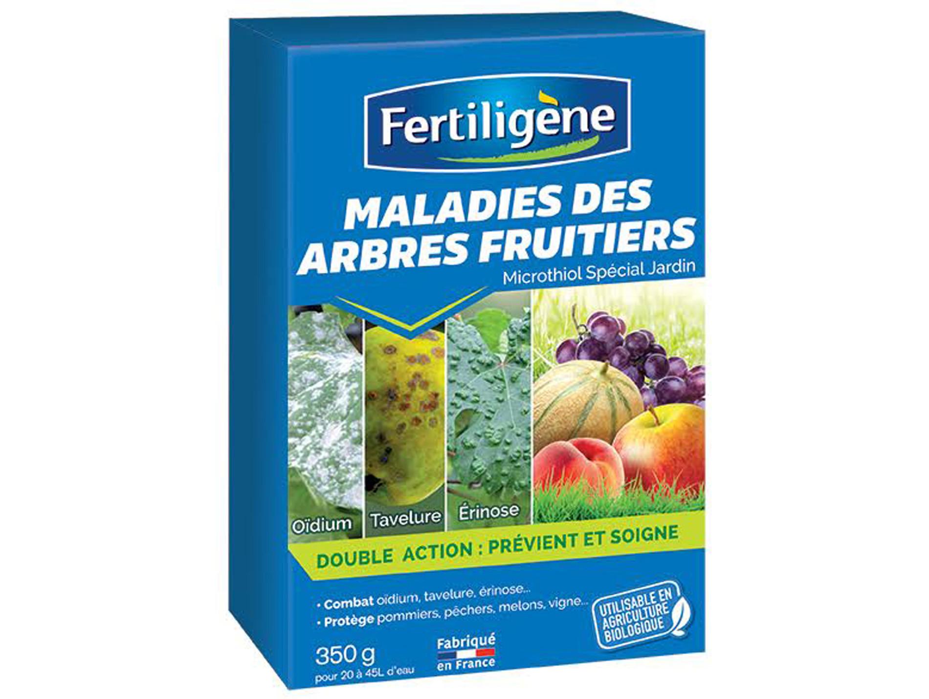 traitement des maladies des arbres fruitiers 350g fertiligene. Black Bedroom Furniture Sets. Home Design Ideas