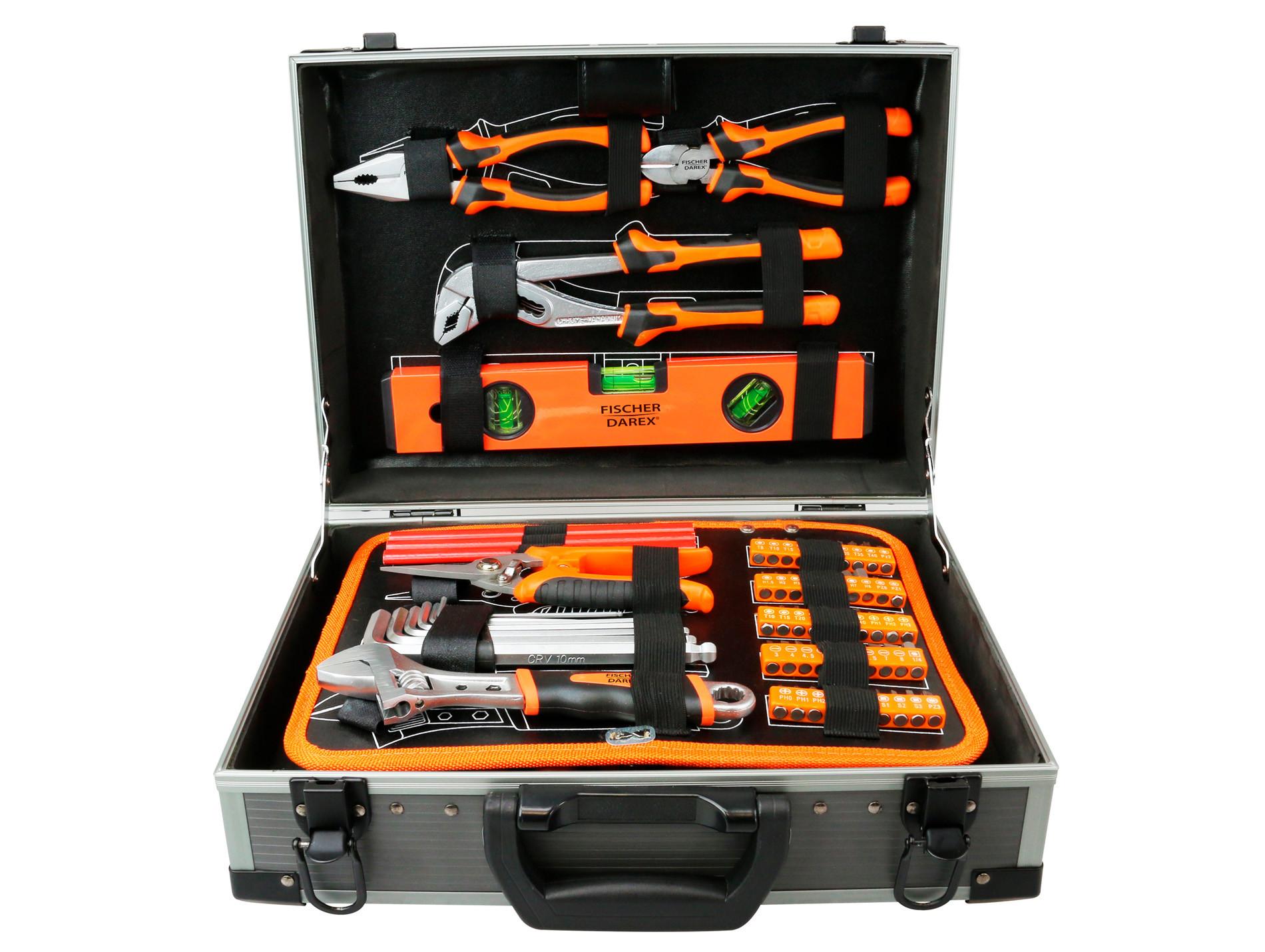 Valise 110 outils de vissage FISCHER DAREX