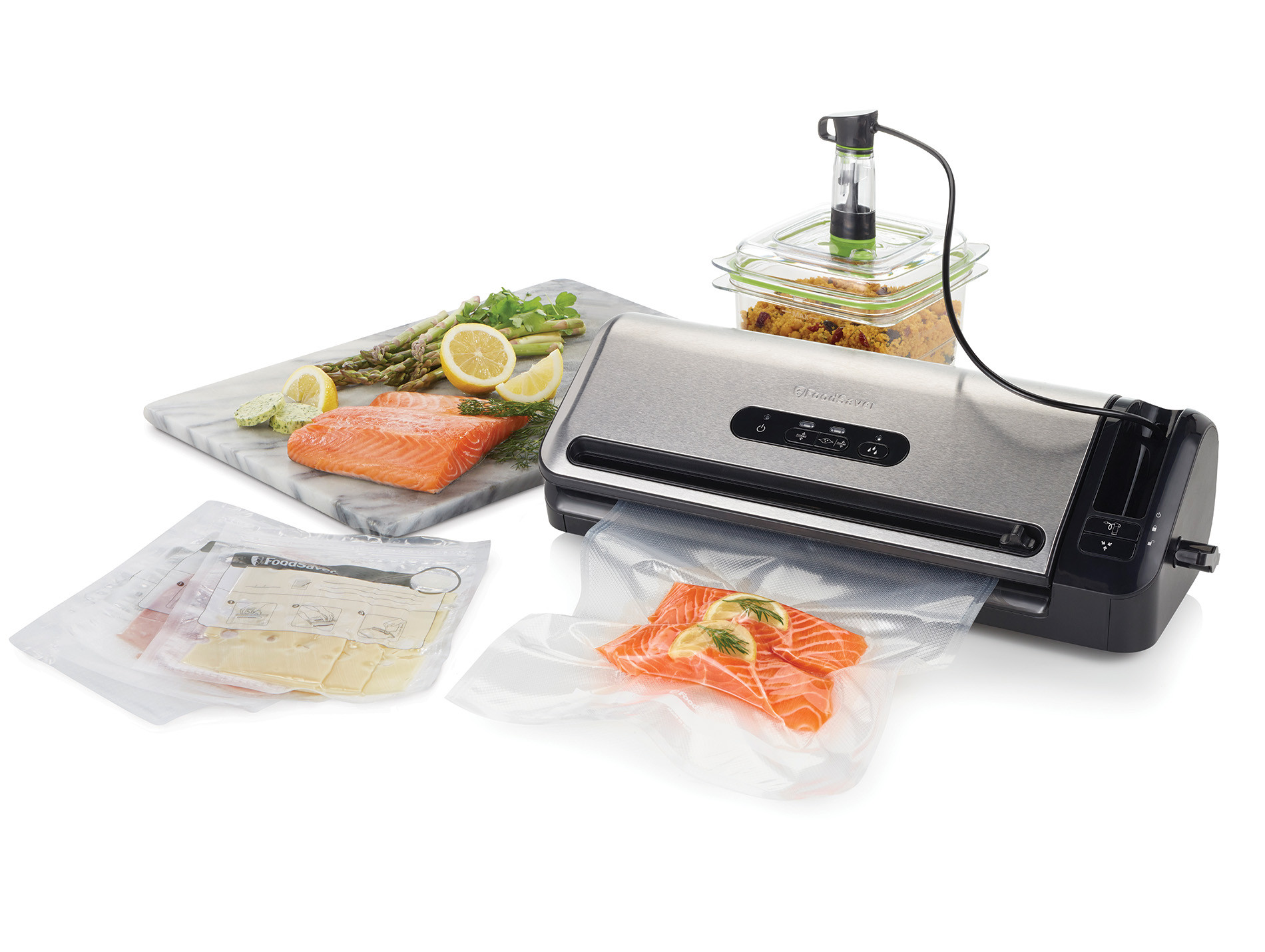 Machine mise sous vide automatique FOODSAVER FFS017X0