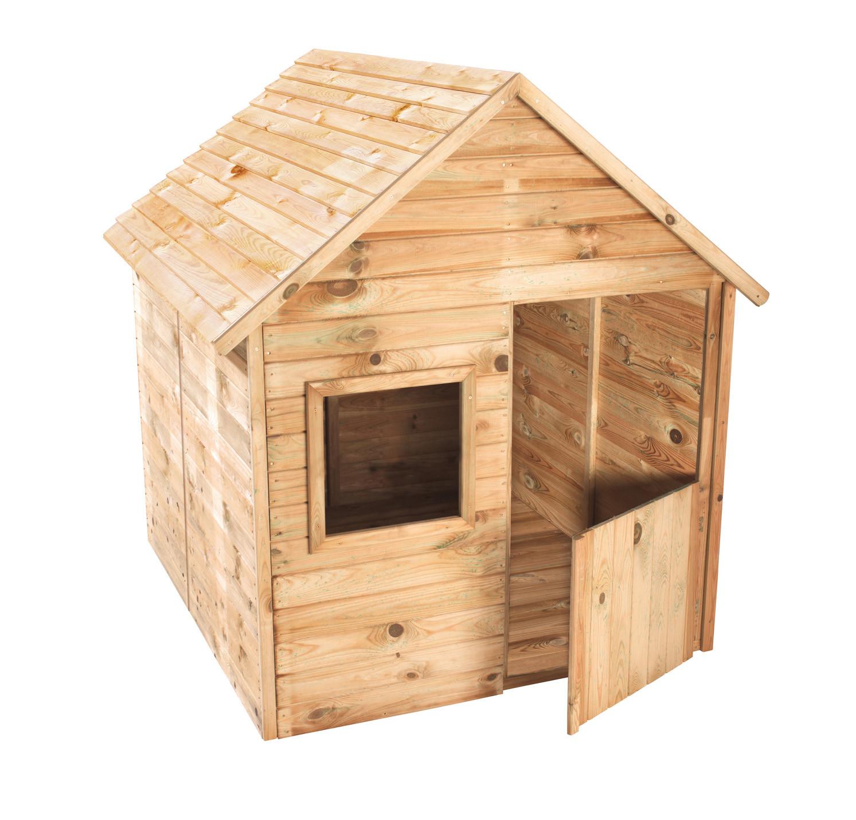 Quel Bois Pour Cabane De Jardin cabane en bois pour enfant marina