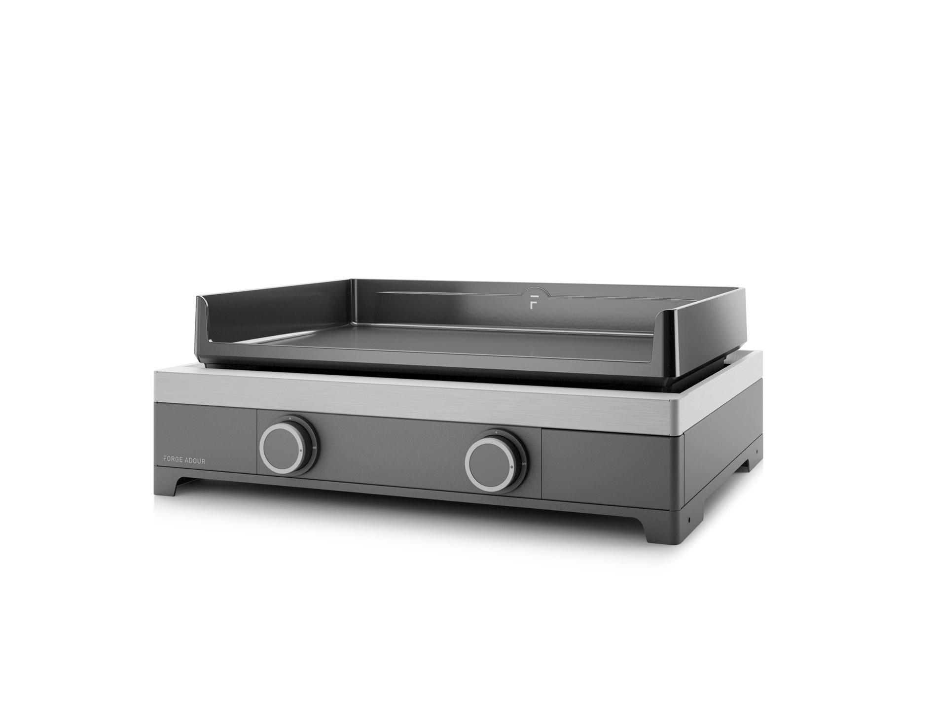 Choisir Une Plancha Professionnelle plancha gaz modern 60 forge adour - barbecue, plancha