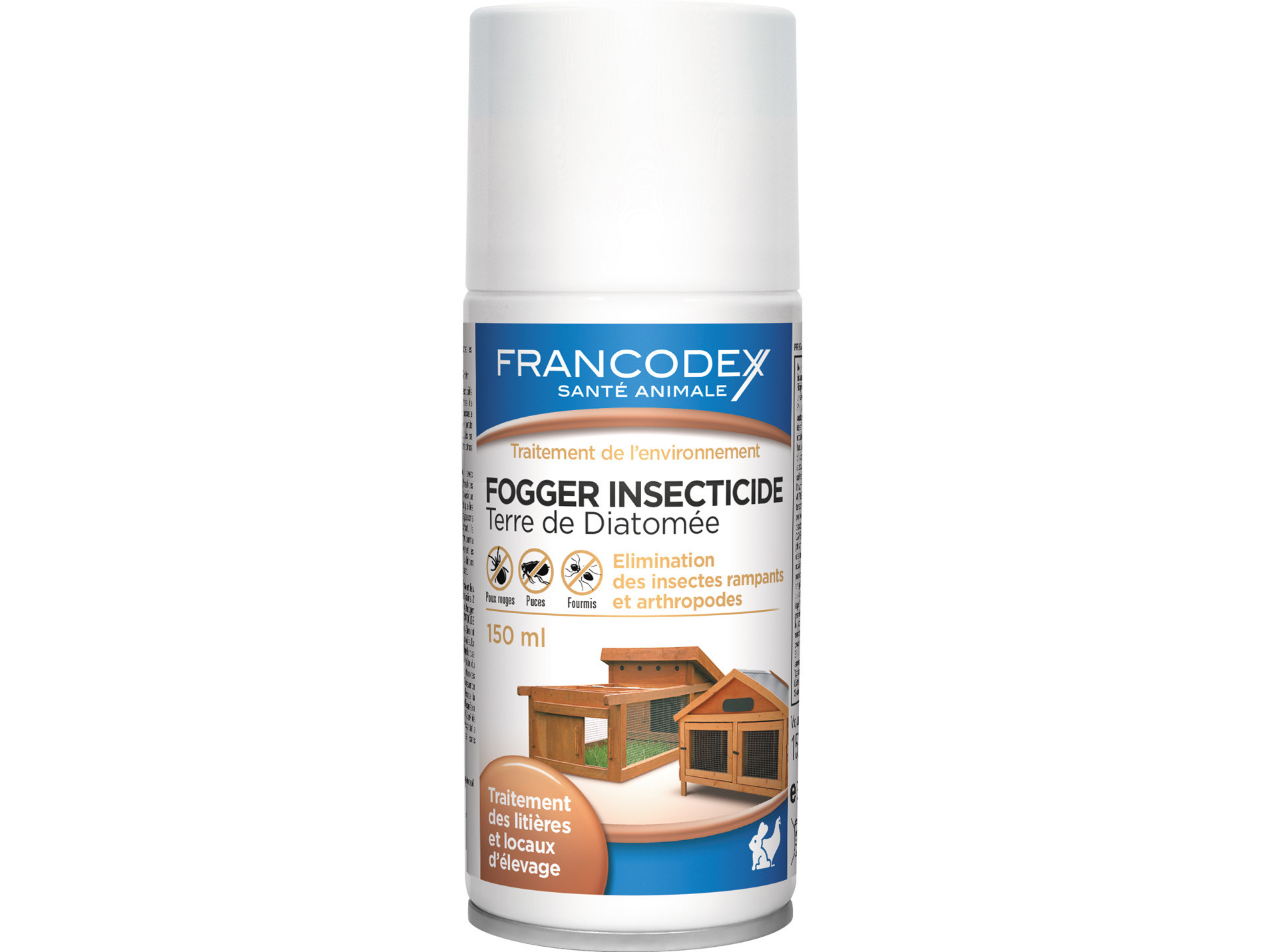 Fogger insecticide basse cour 150ml