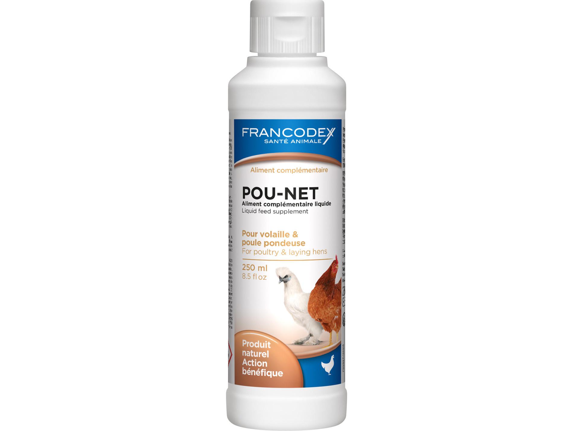 POU NET anti-poux pour poules 250ml