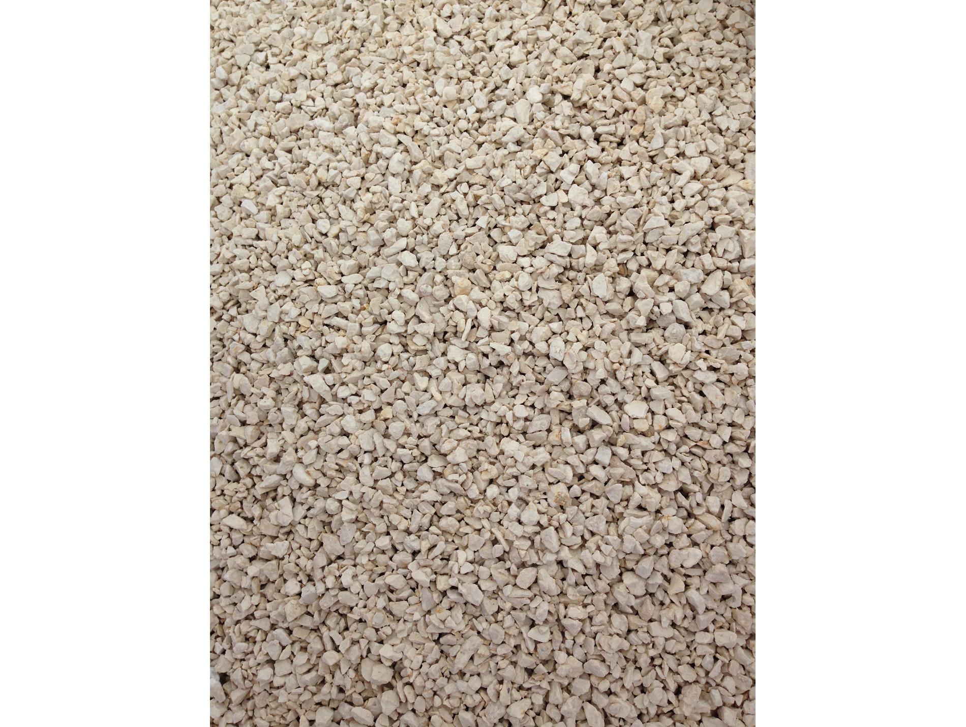 Difference Entre Gravier Et Gravillon gravillon calcaire blanc concassé 6/10 375kg