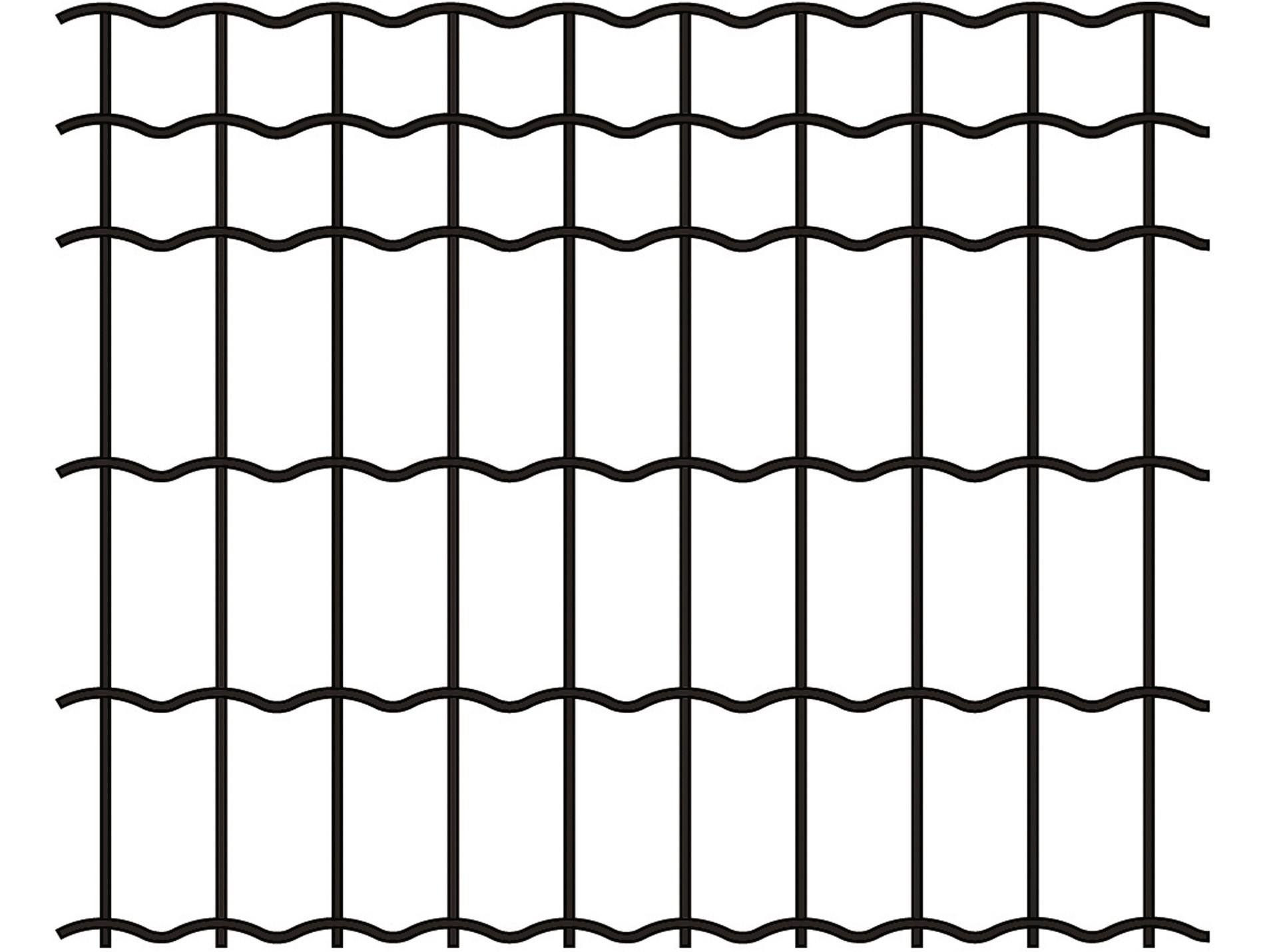 Grillage Jardi Brico gris 10x5 H1,20m L25m