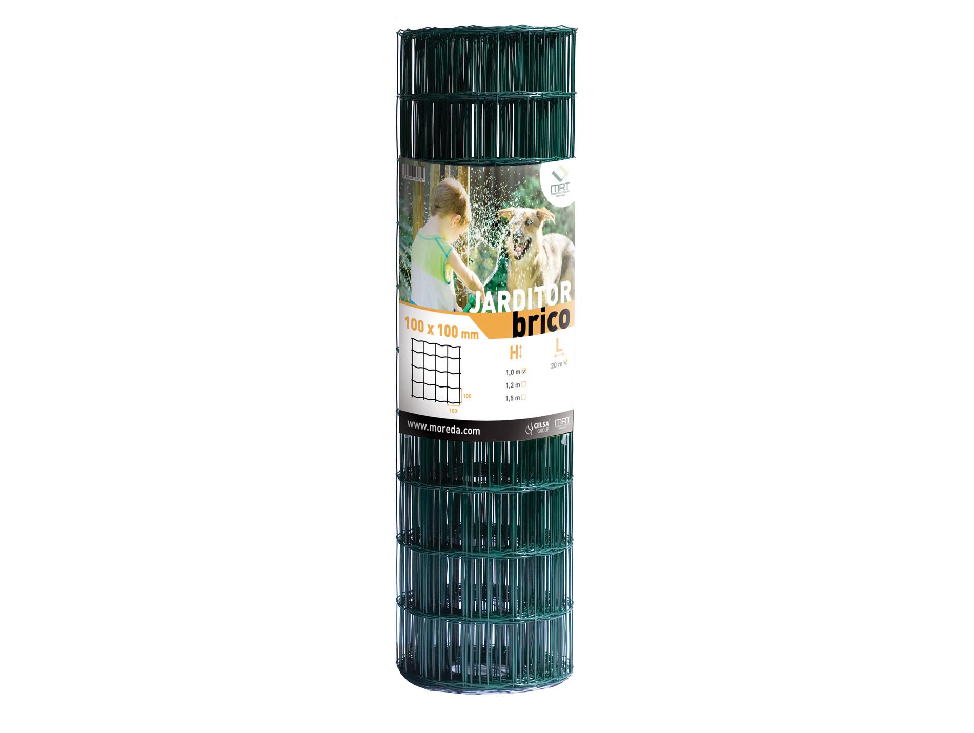 Grillage Jardi Brico vert 10x10 H1,50m L20m