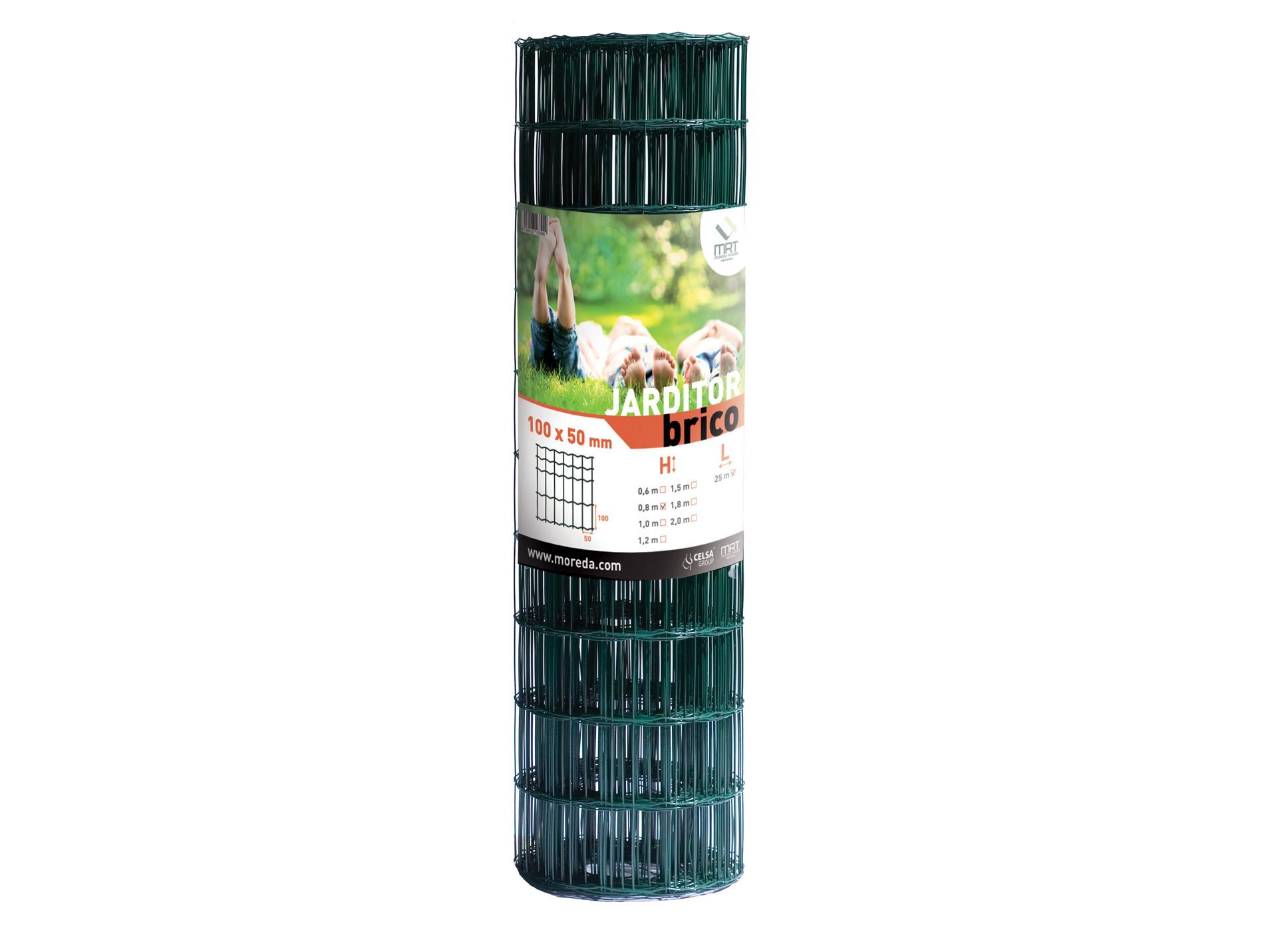 Grillage Jardin Hauteur 2M grillage jardi brico vert 10x5 h2,00m l25m