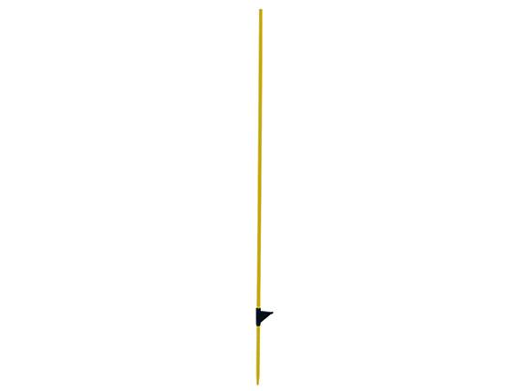 Lot de 10 piquets fibre de verre L 1,25 m + bêche