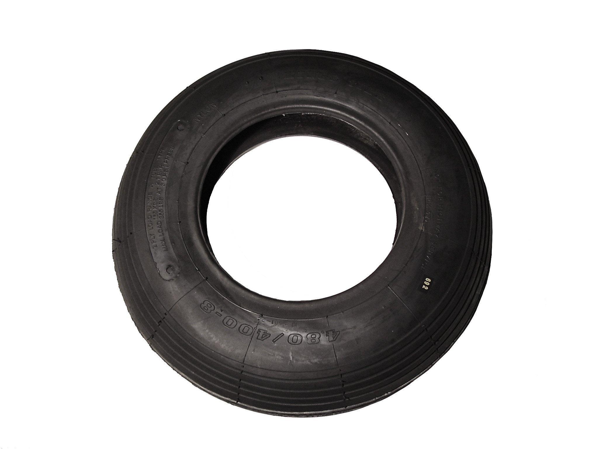 Pneu pour roue de brouette Ø400