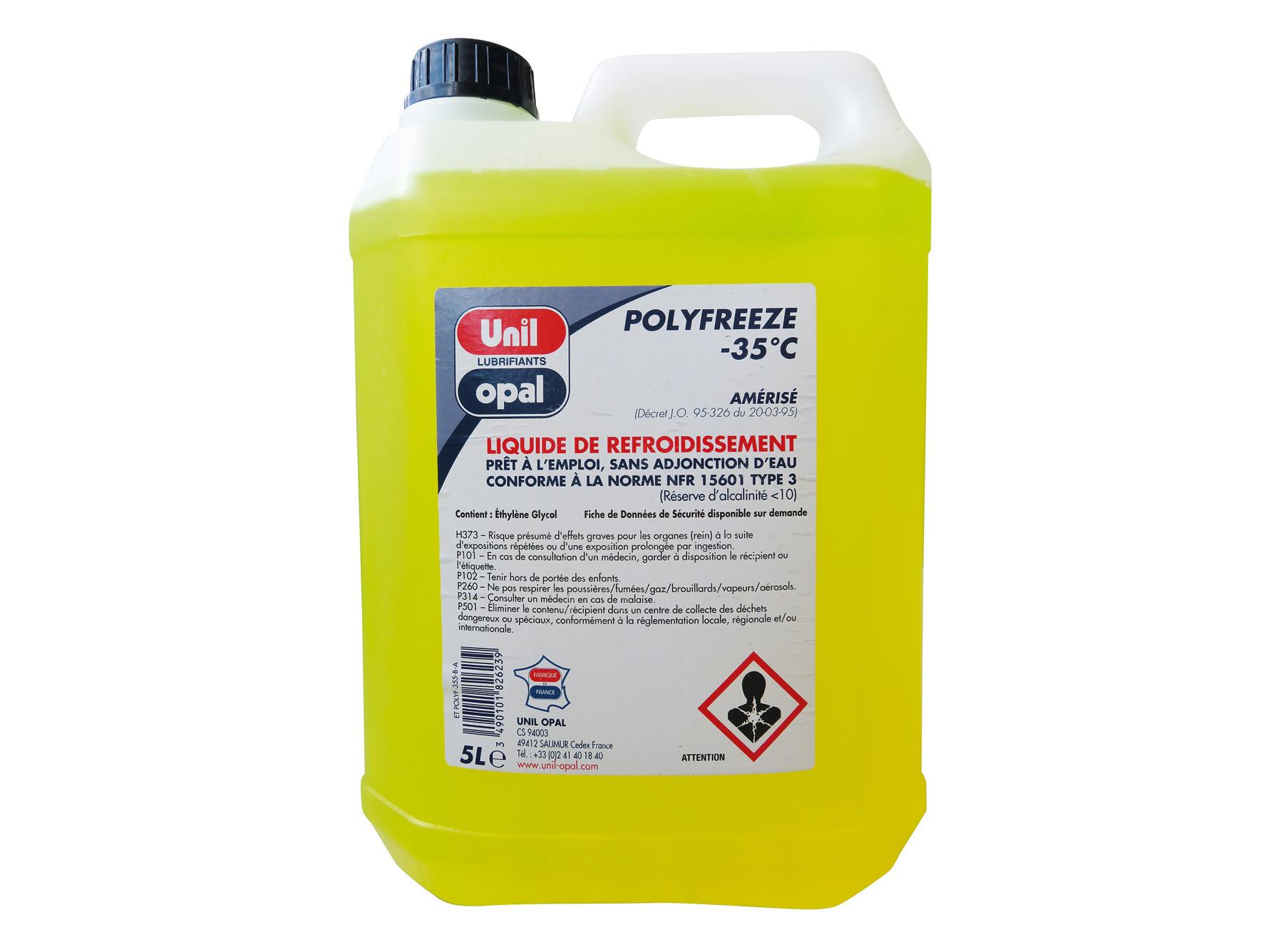 Liquide de refroidissement Polyfreeze -35° 5L