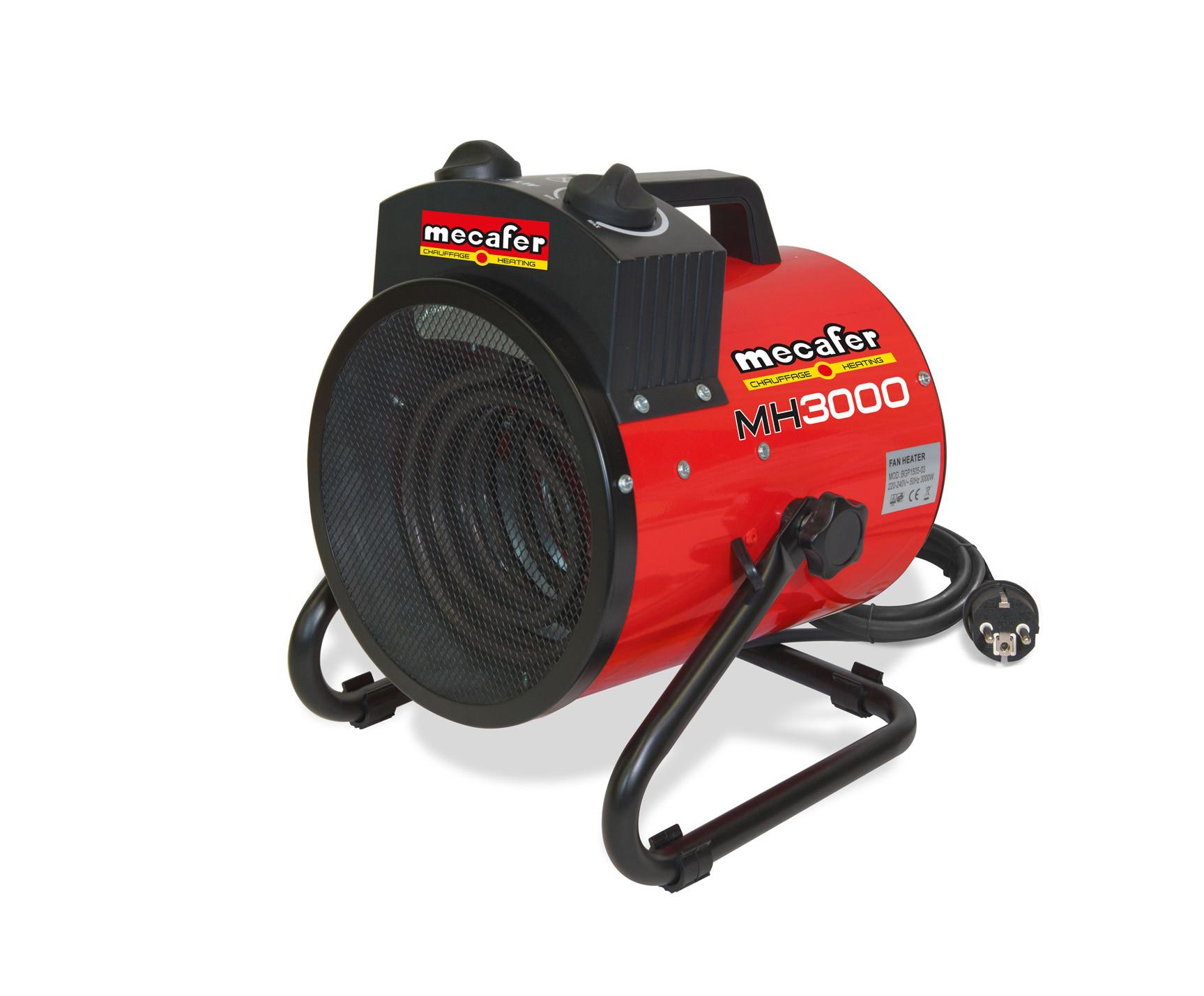 Chauffage électrique d'atelier 3kW MECAFER MH3000