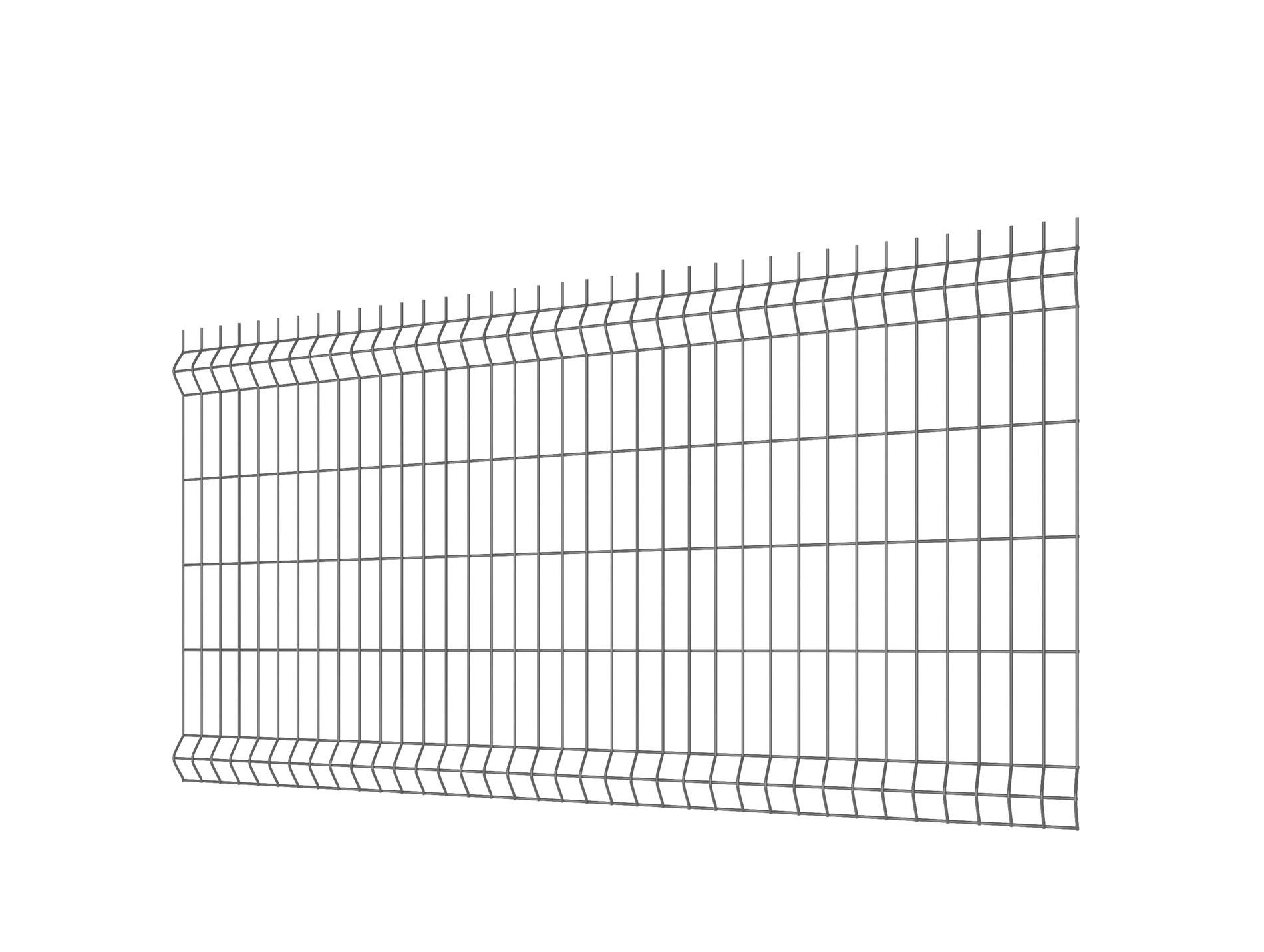Panneau de clôture rigide H 1.50m Hercules®Plus Gris