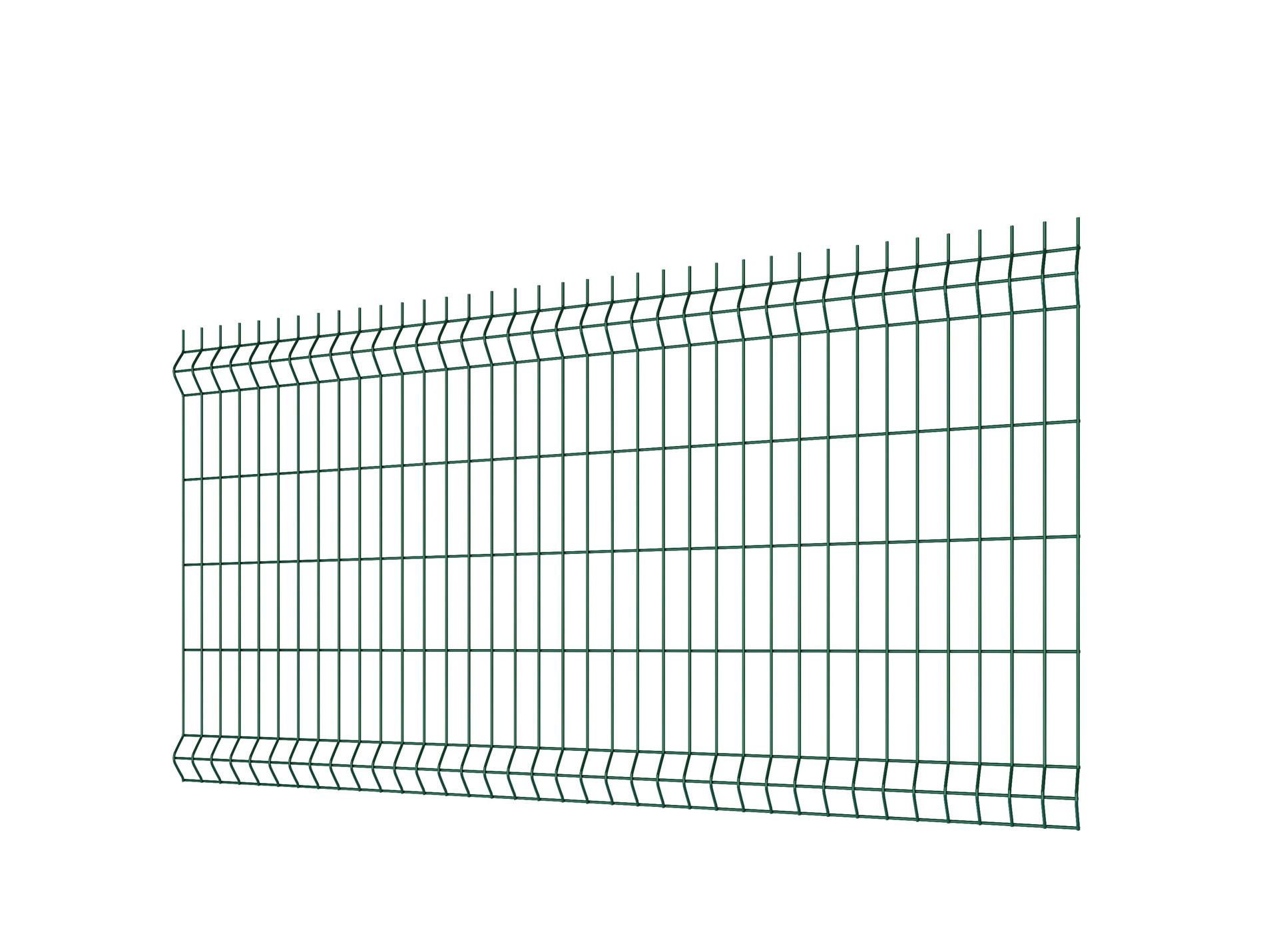 Panneau de clôture rigide H 1.50m Hercules®Plus Vert