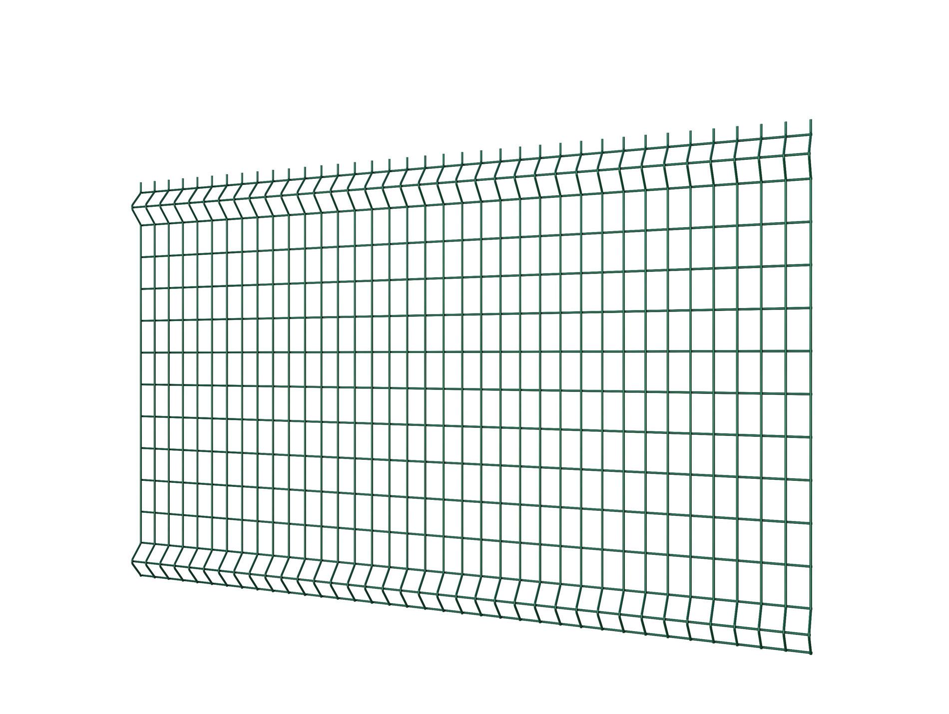 Grillage Jardin Hauteur 2M panneau de clôture rigide hercules® vert 200x200