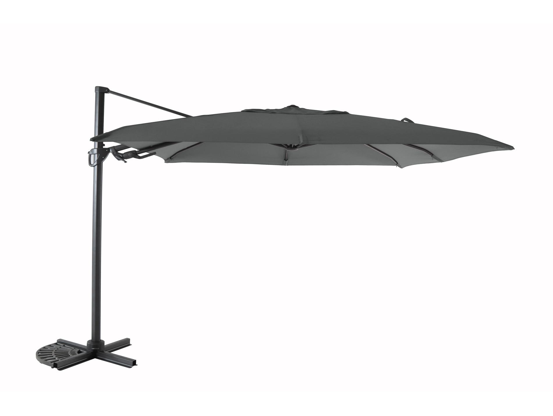 Parasol Déporté Anthracite Mobilier De Jardin
