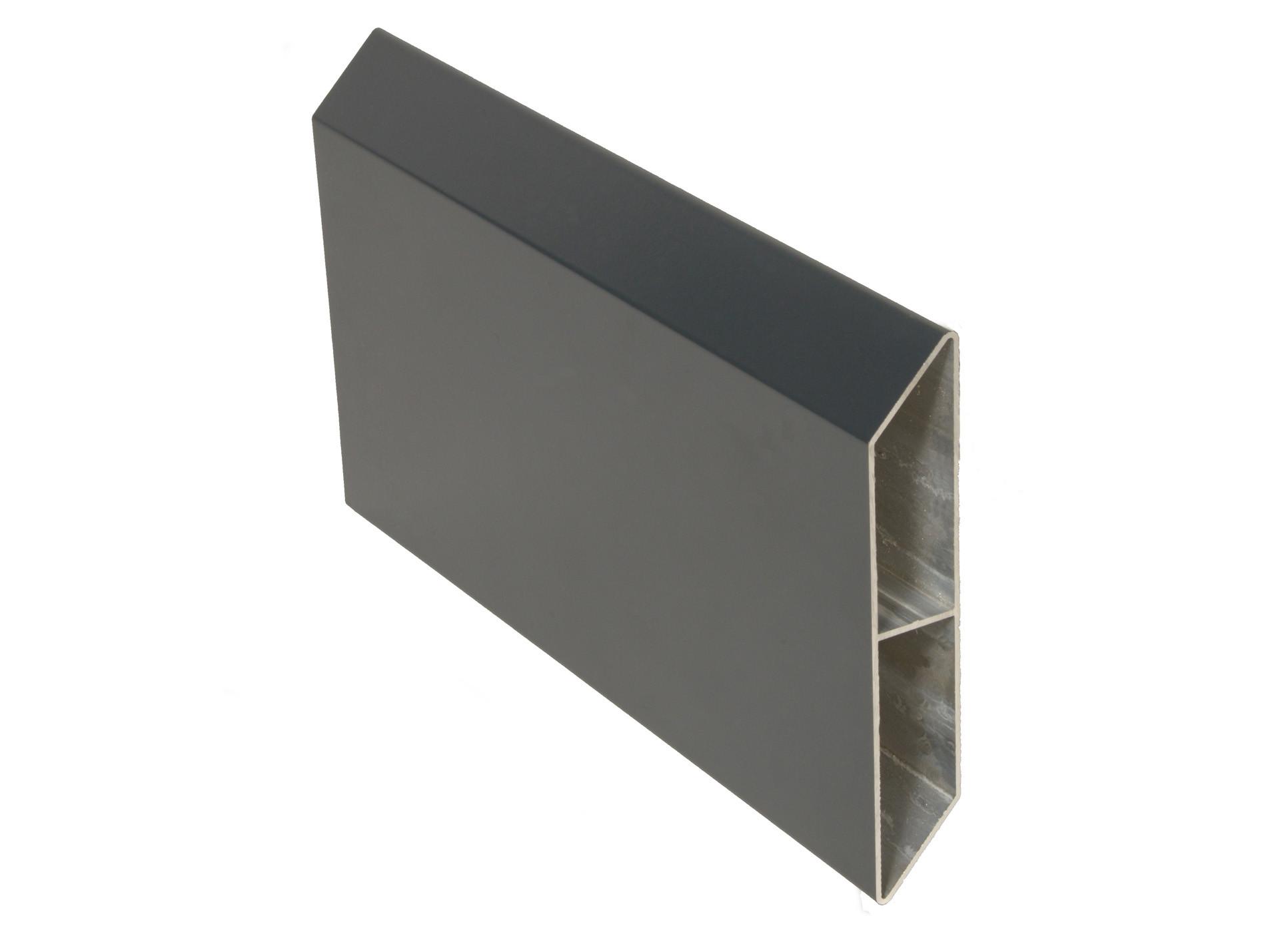 Lame palissade alu gris clair 2m