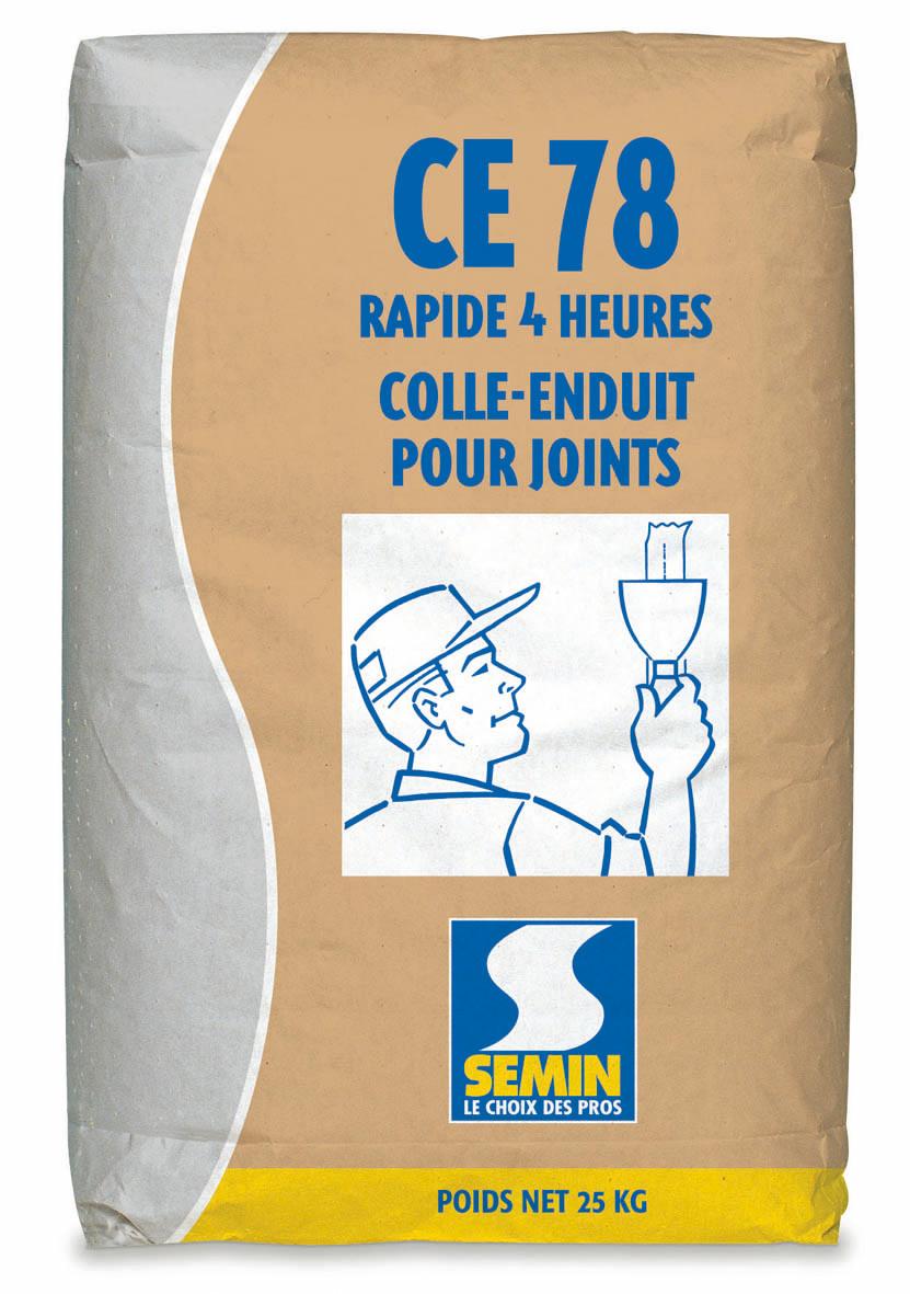 Colle-enduit CE 78 rapide 4h 25kg