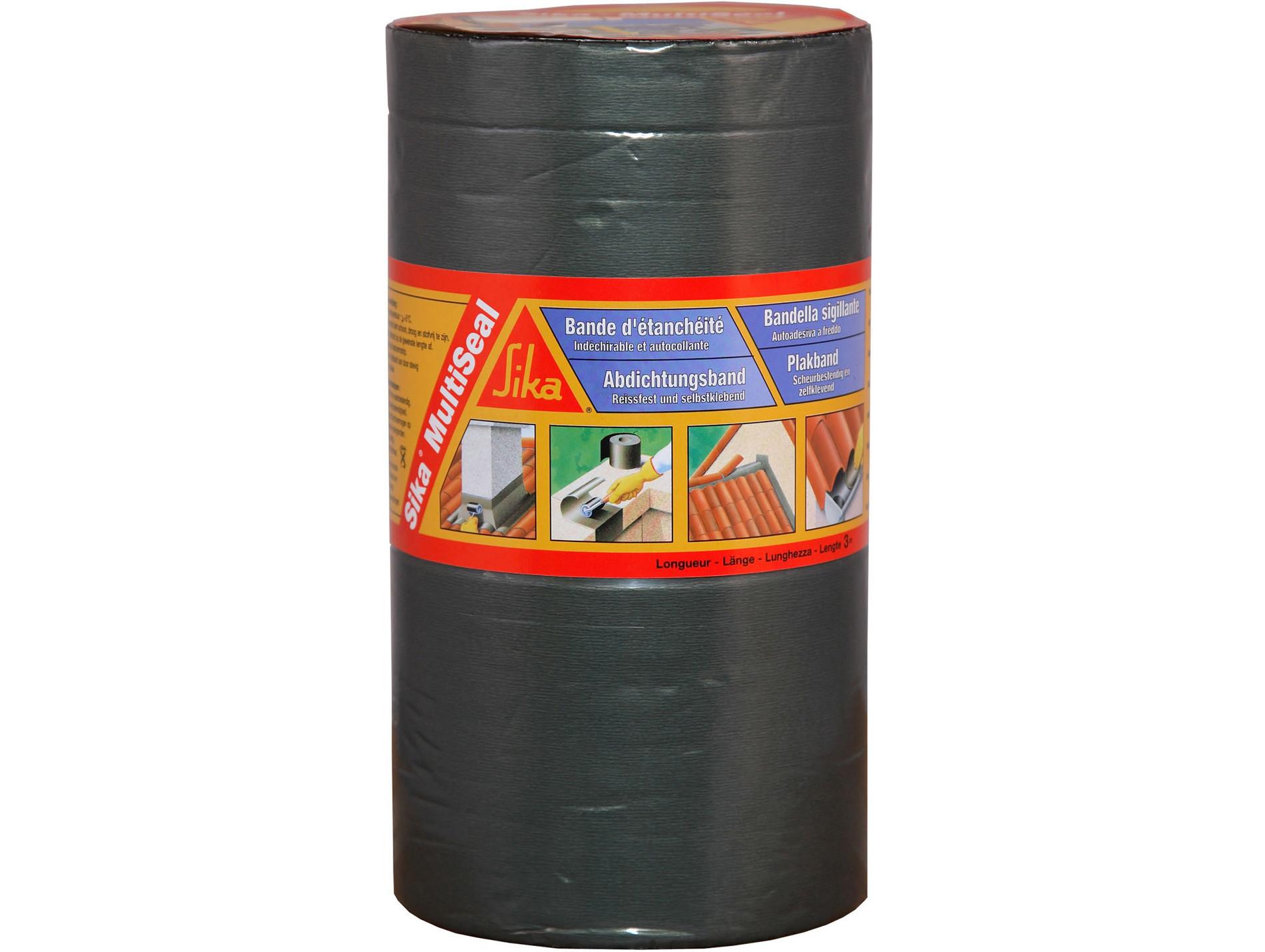 Bande d'étanchéité SIKA Multiseal 3mx100mm Gris