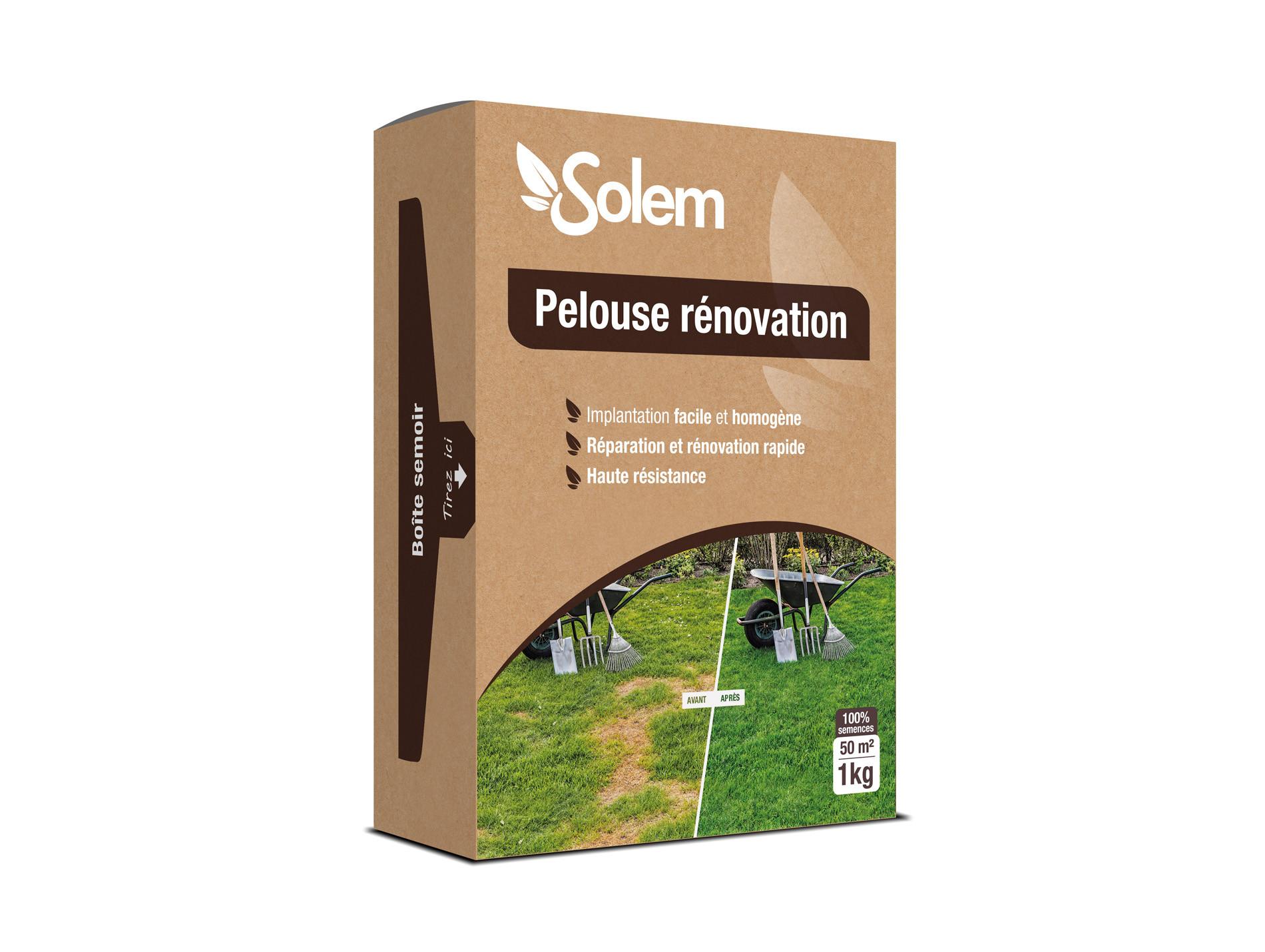 Pelouse rénovation SOLEM 1kg