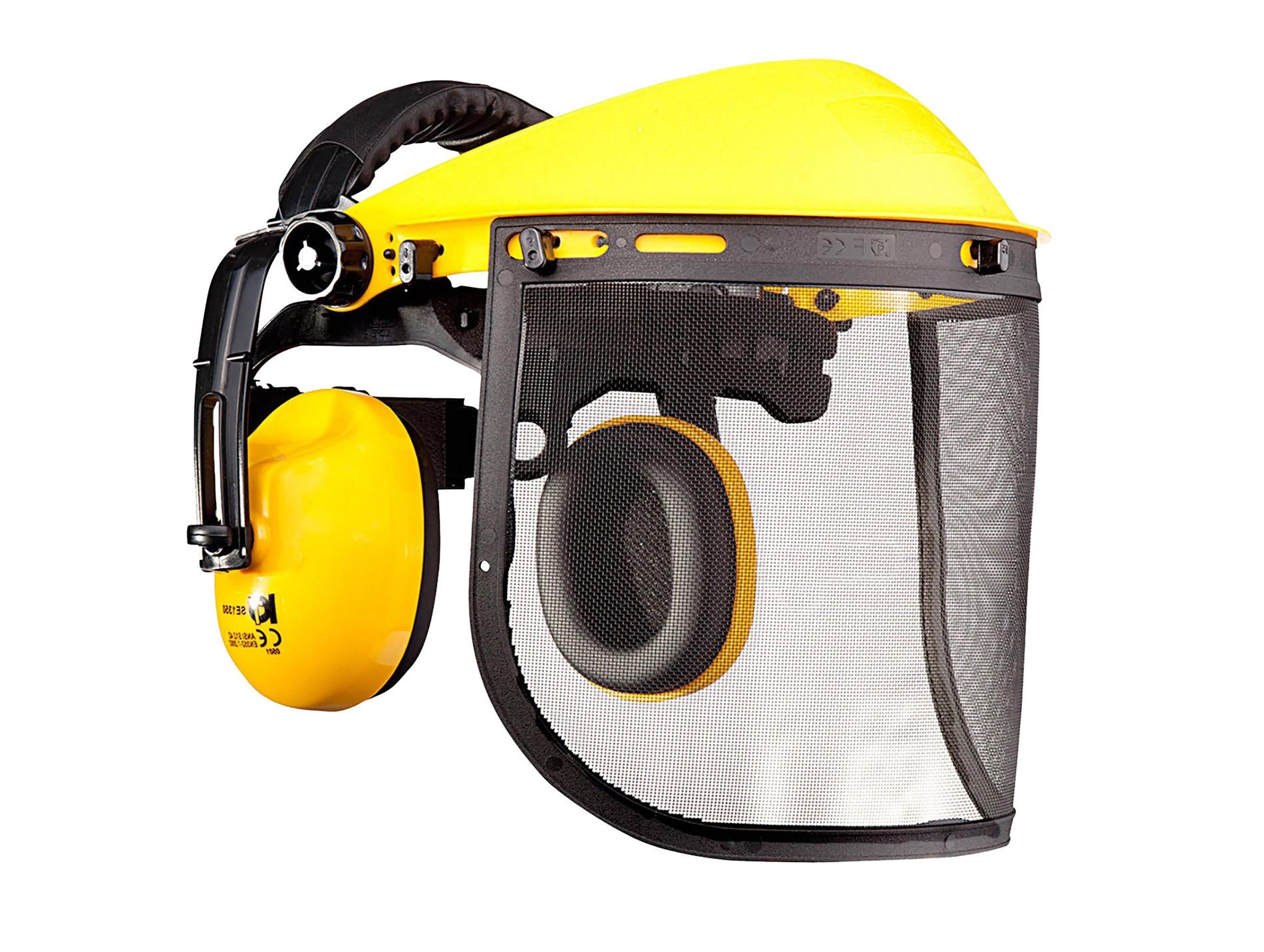 Visière protège-oreilles débroussaillage SOLIDUR