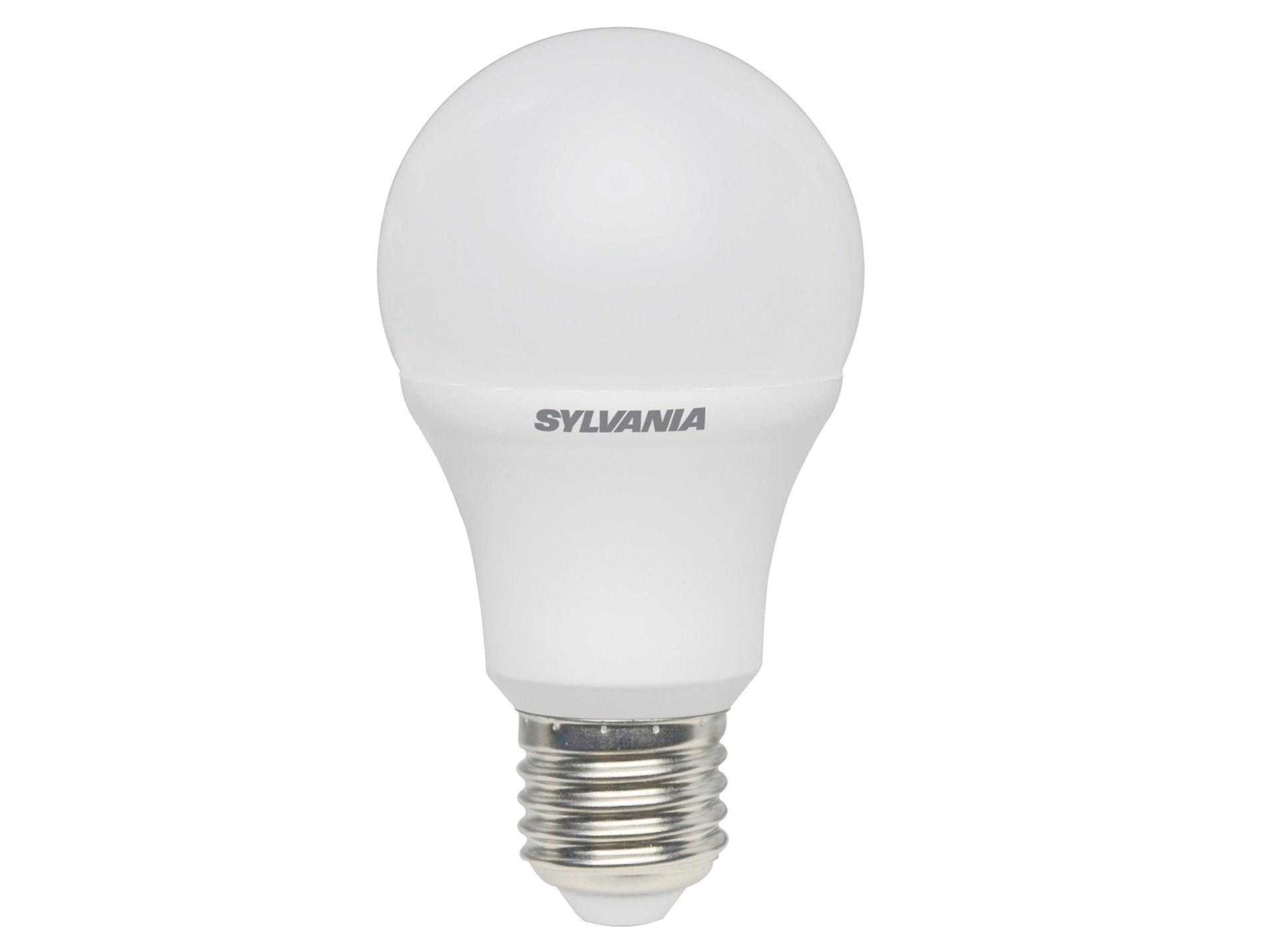 Ampoule LED E27 806lm 4000K dépolie X3