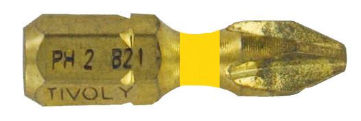 Embout de vissage pour vis Philips N°1 diamant L25