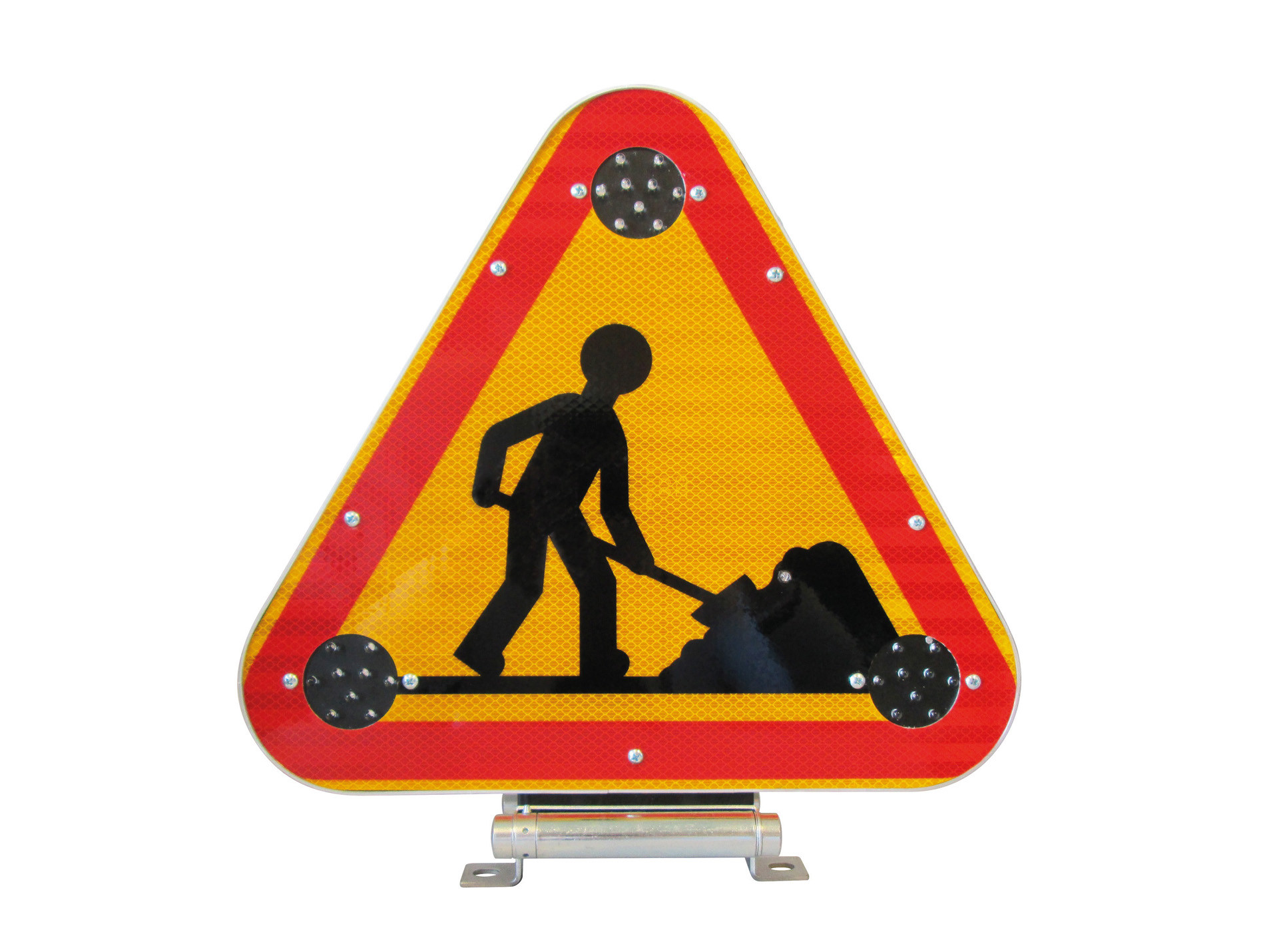 Triangle de signalisation triflash Led