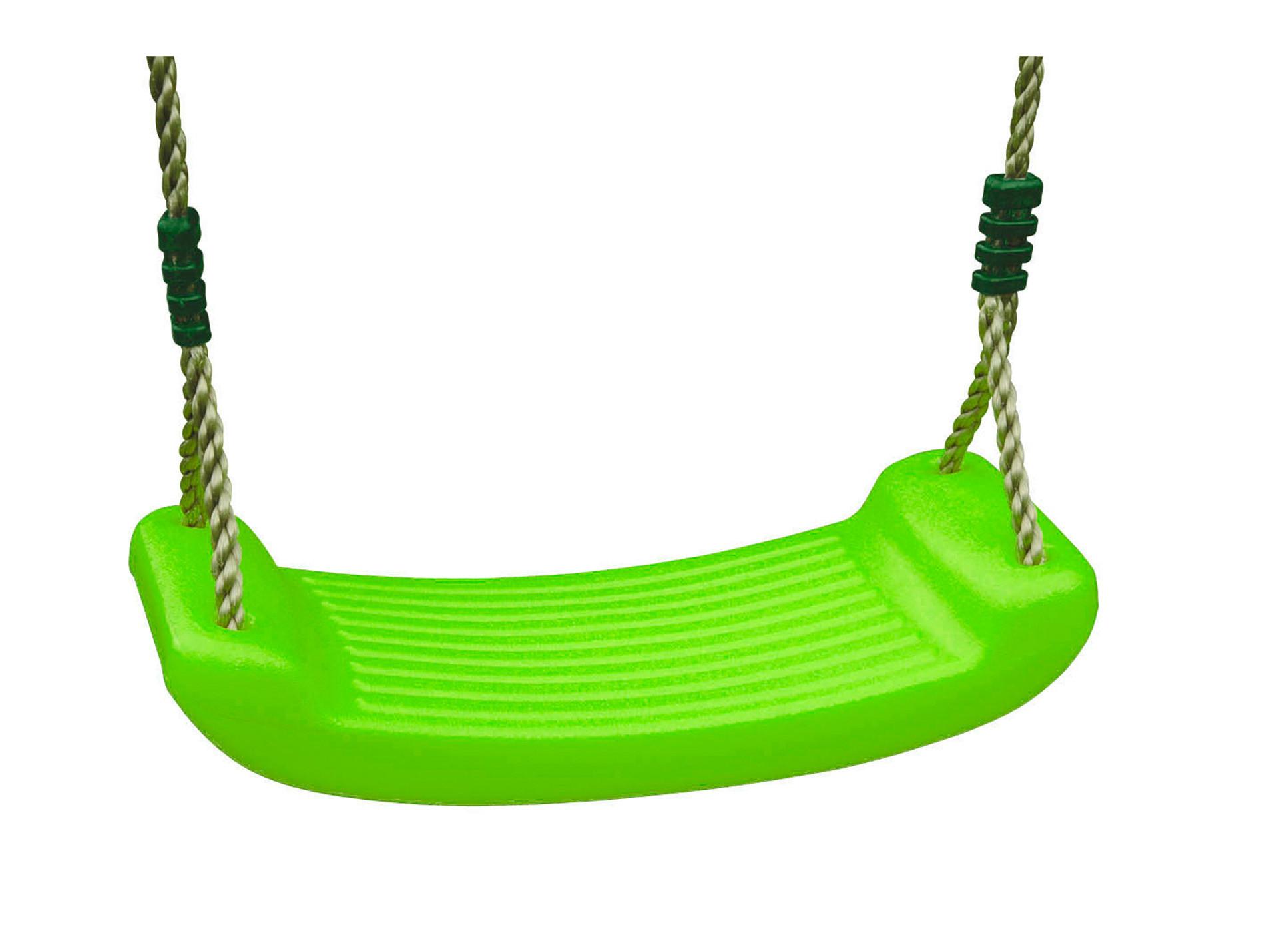 Balançoire en plastique vert 2,50m TRIGANO