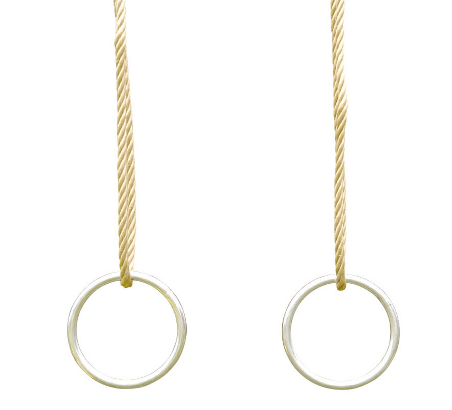 Jeux d'anneaux en métal pour portique 3,5 m TRIGANO