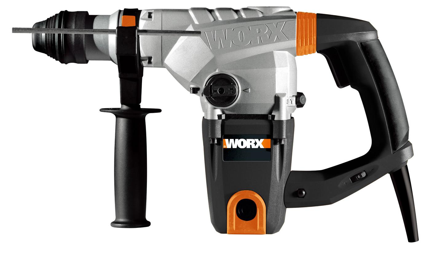 Marteau perforateur rotatif 1250W 5J WORX WX333