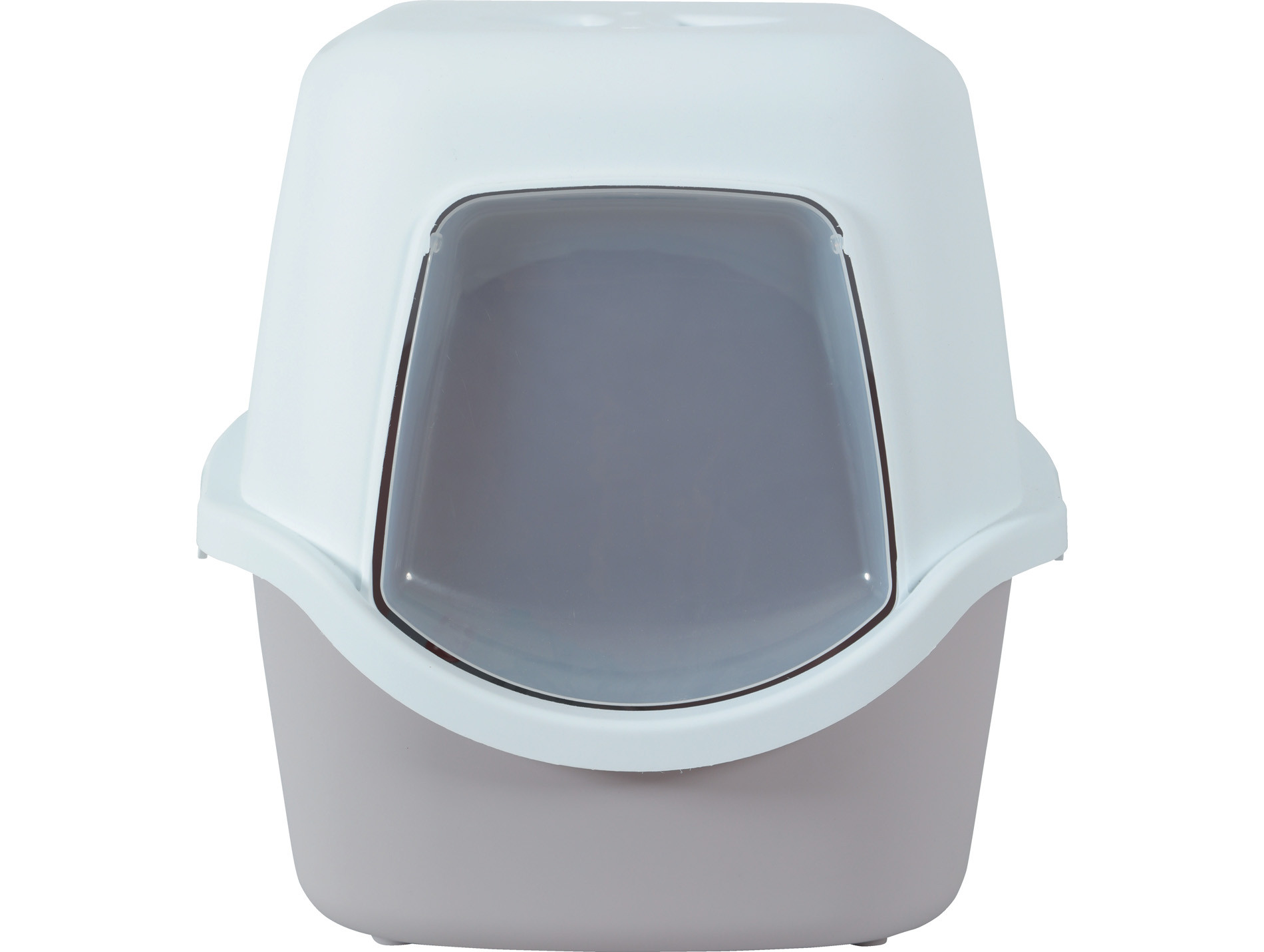 Litière maison de toilette Cathy gris